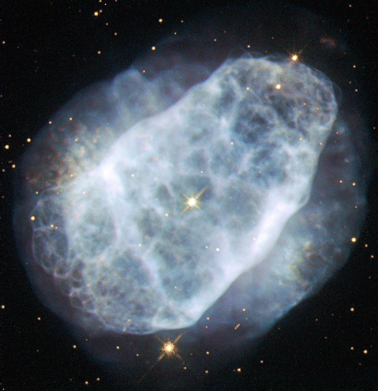 Hubble View of a Nitrogen-Rich Nebula | NASA