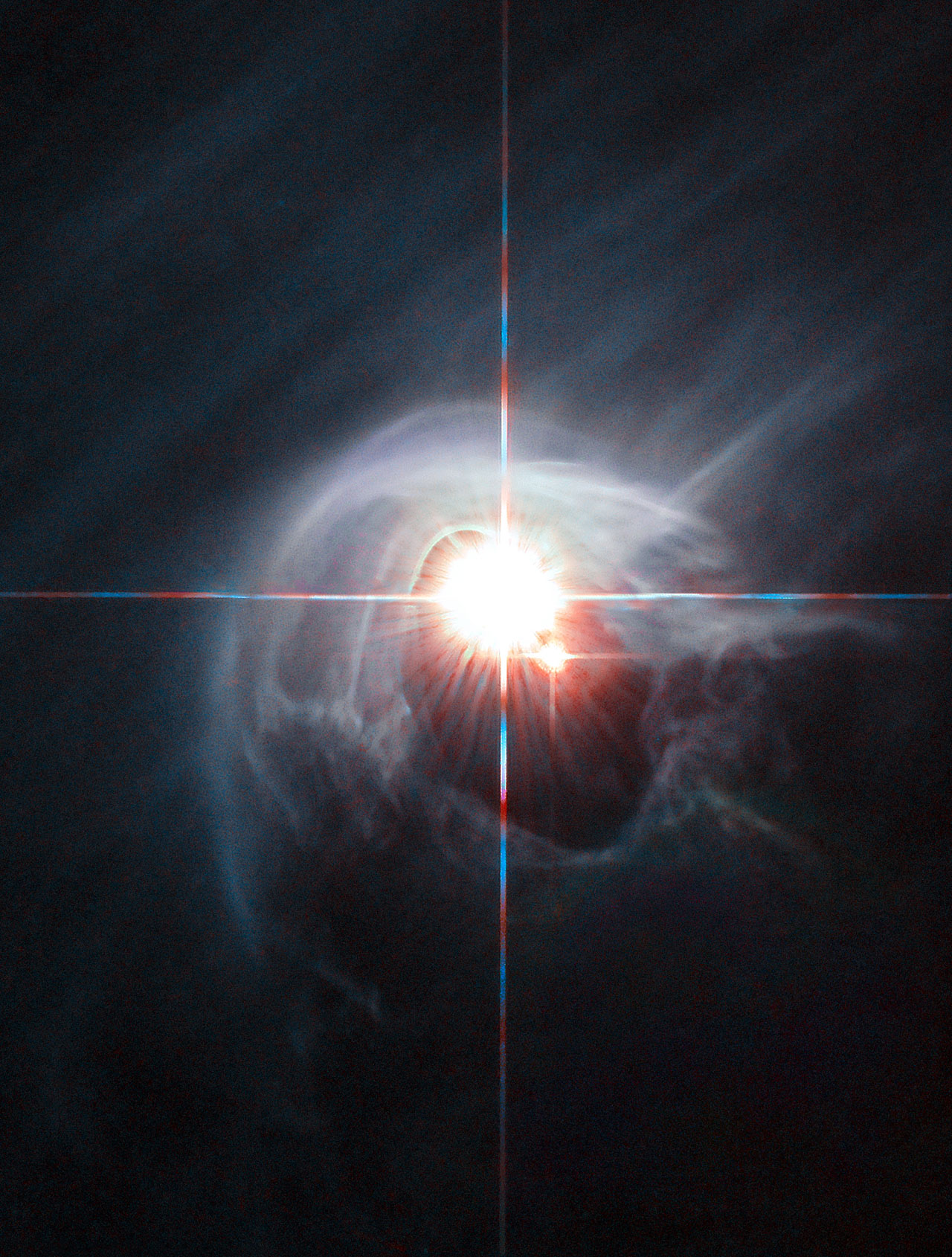 Hubble View: Smoke Ring For A Halo