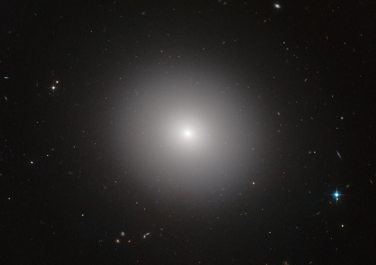 Death Of Giant Galaxies Spreads From The Core Nasa