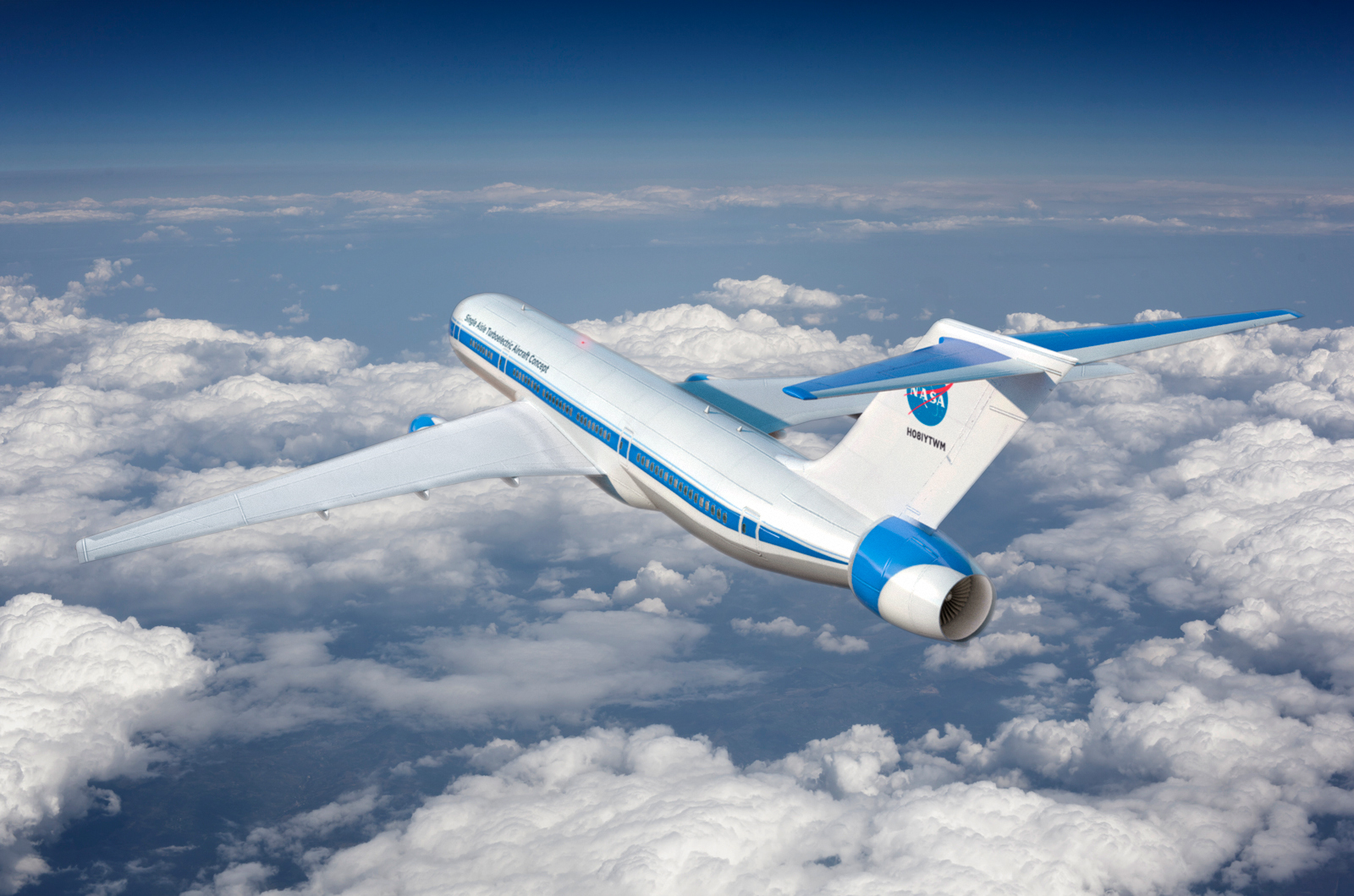 With the recent advances in technology and design aircraft concepts - Hybrid Electric Concept Plane