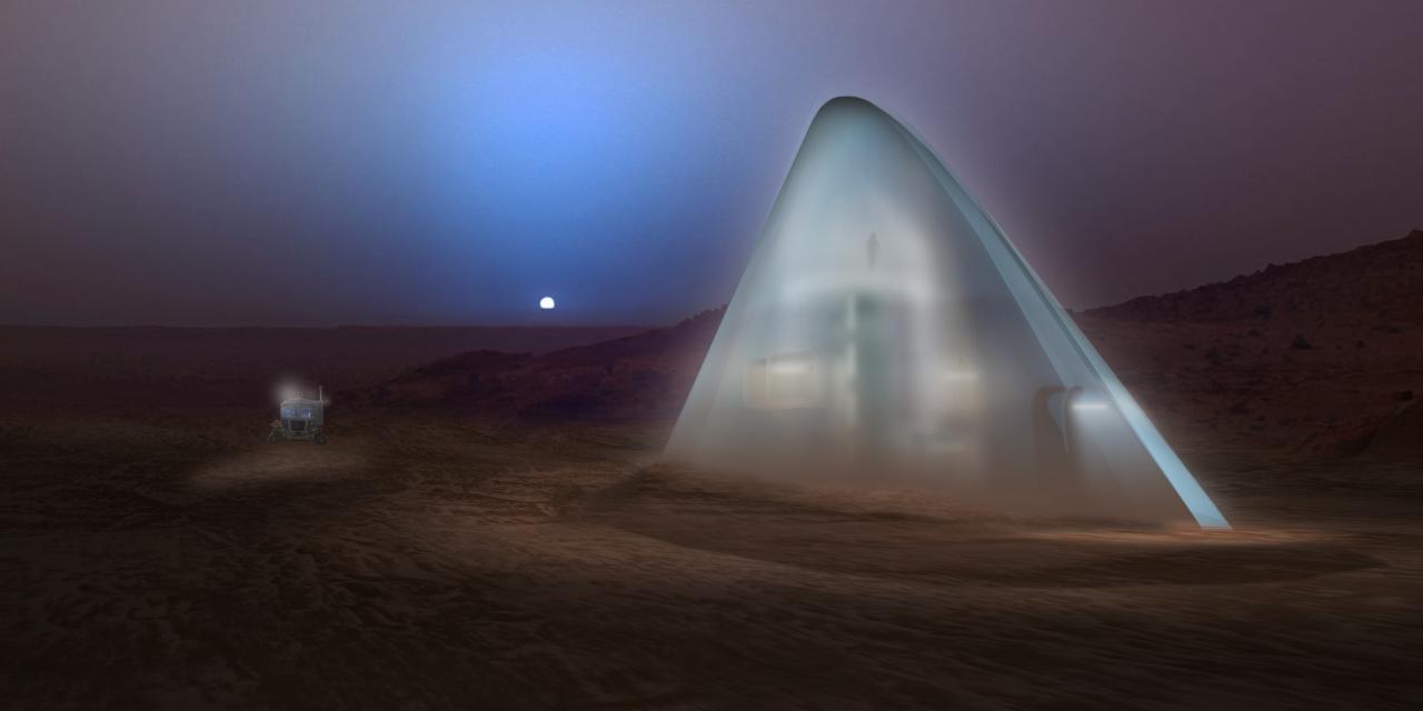 So k nnten in zukunft mars h user aussehen - Mars architekten ...
