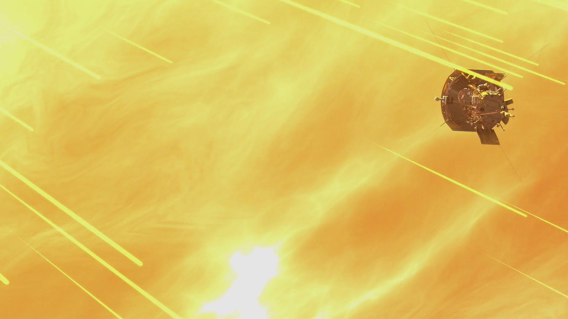 Parker Solar Probe, courtesy of NASA/APL