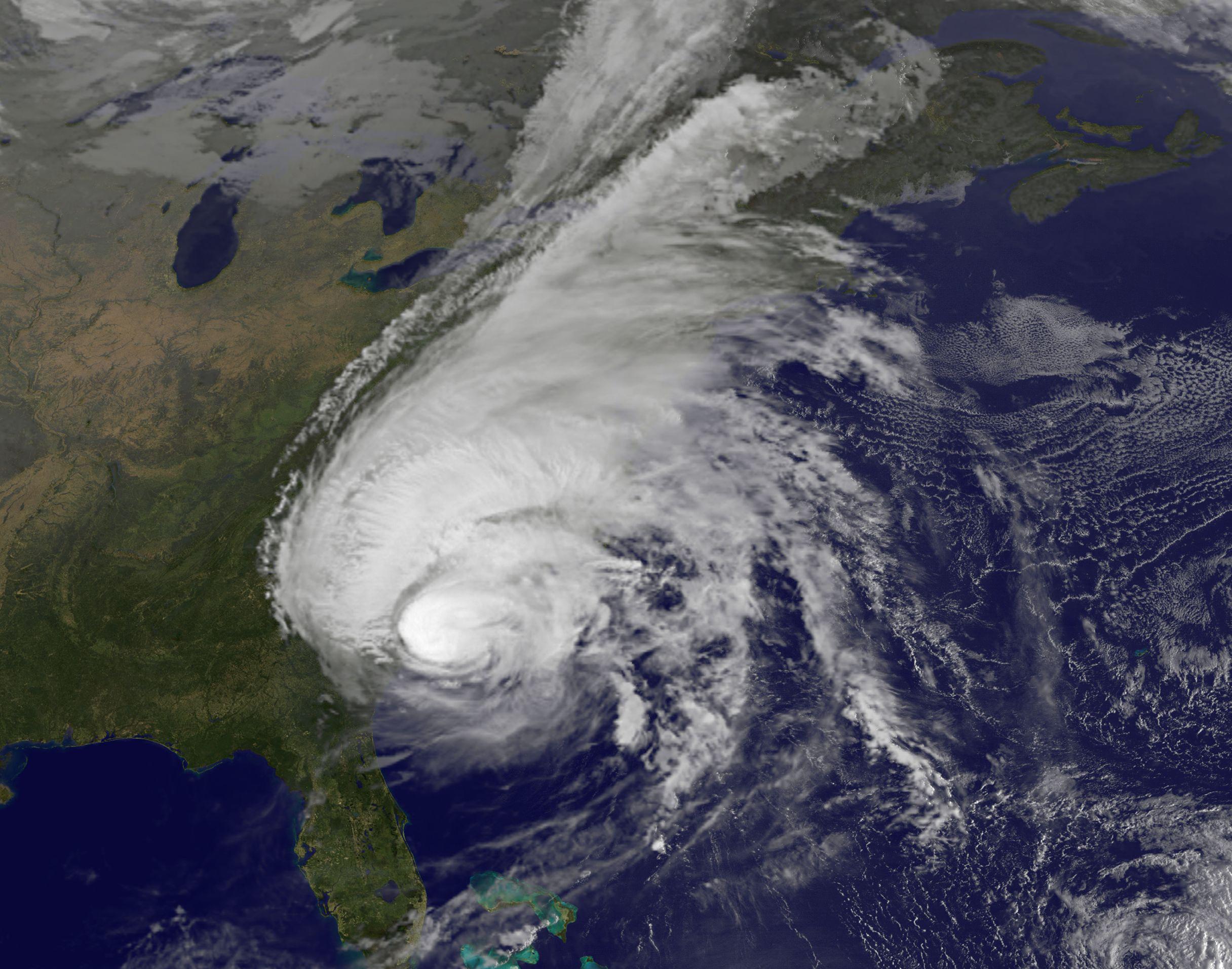 NASA Adds Up Deadly Hurricane Matthew's Total Rainfall   NASA Hurricane Satellite Map Of Florida on weather in marco island florida, hurricane over florida, hurricanes in florida,