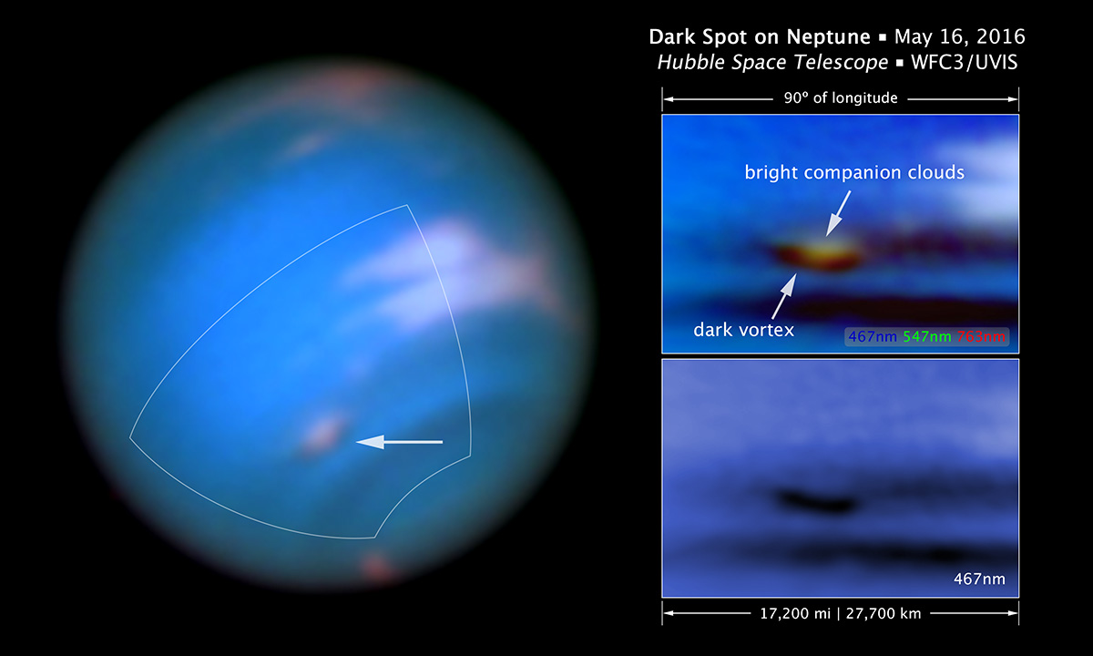 Very Large Telescope Obtained Ultra High-Definition Neptune Images 11