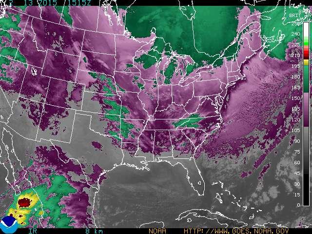 Three Atmospheric Dragons Low Pressure Areas Around The US NASA - Us cloud map