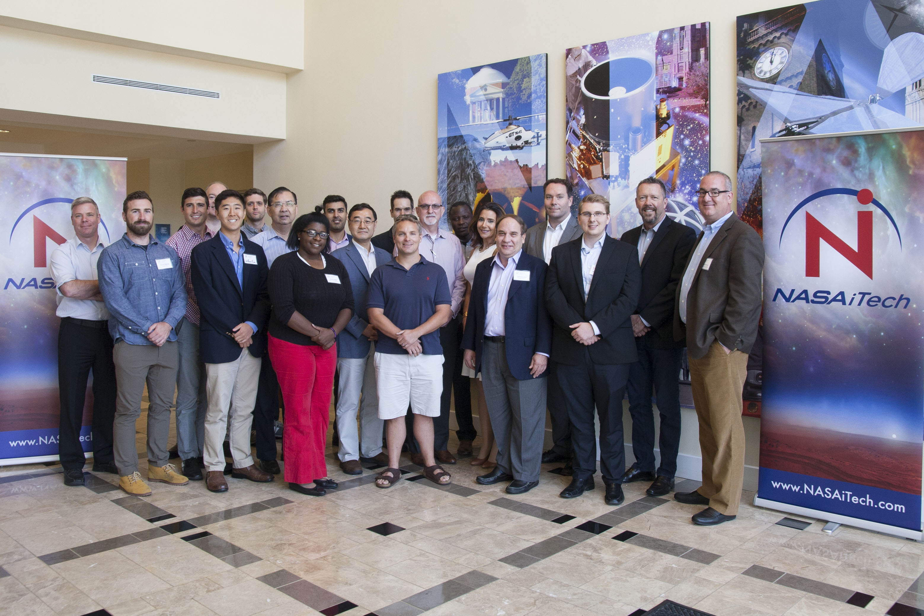Technology · Nasa Itech Cycle 2 Innovators Behind The Top 10 Entries