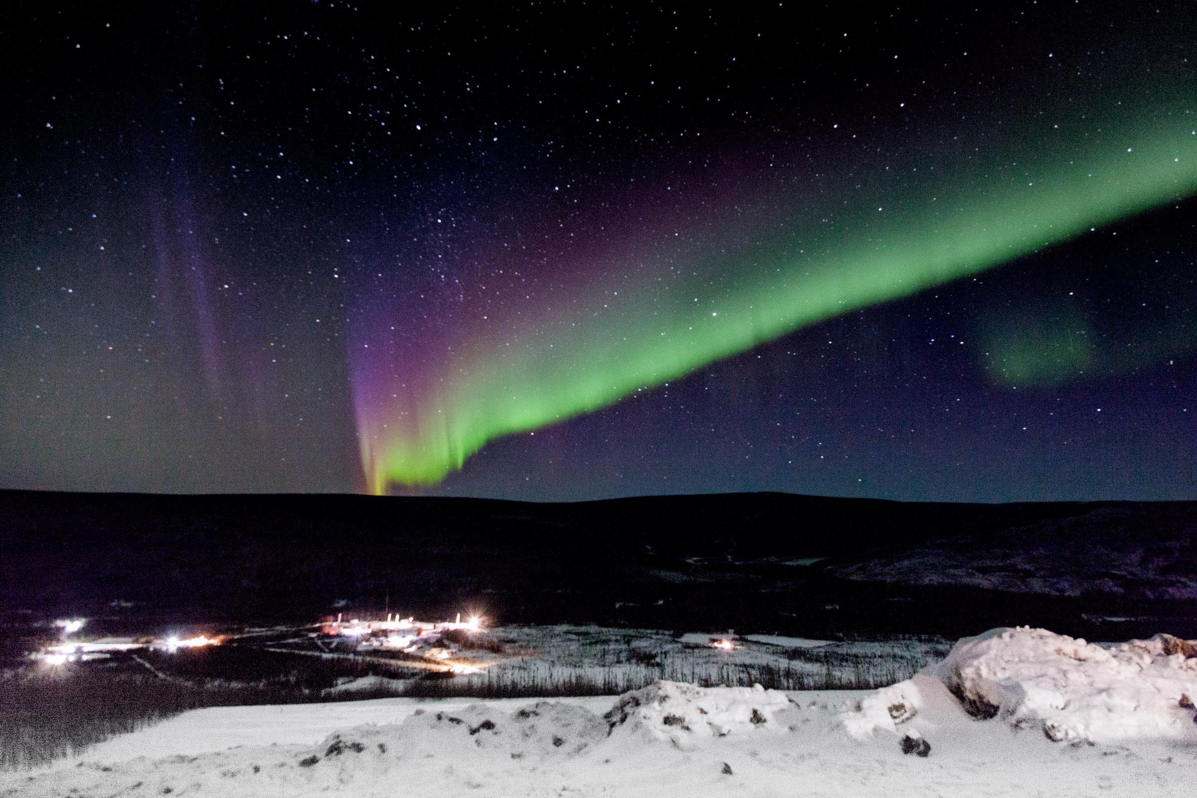 Northern Lights over Alaska | NASA