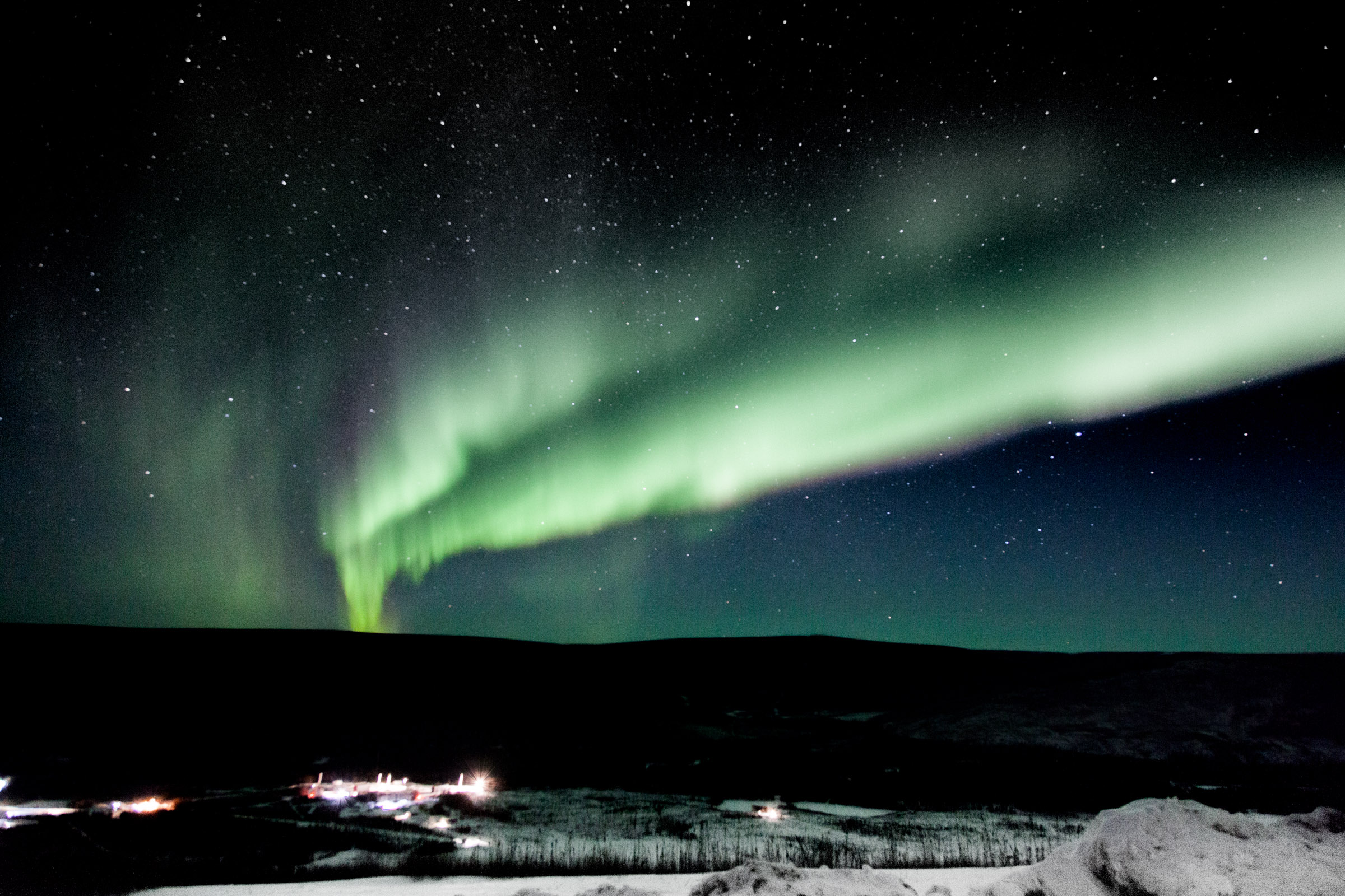 Northern Lights over Alaska
