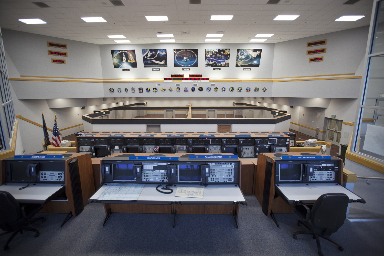 Inside Firing Room 4 Nasa