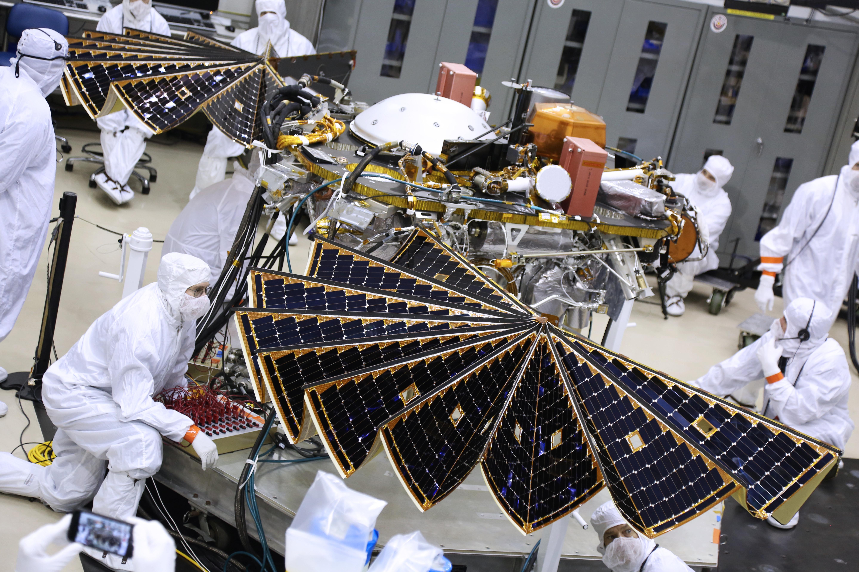 Testing the InSight Mars Lander's Solar Arrays