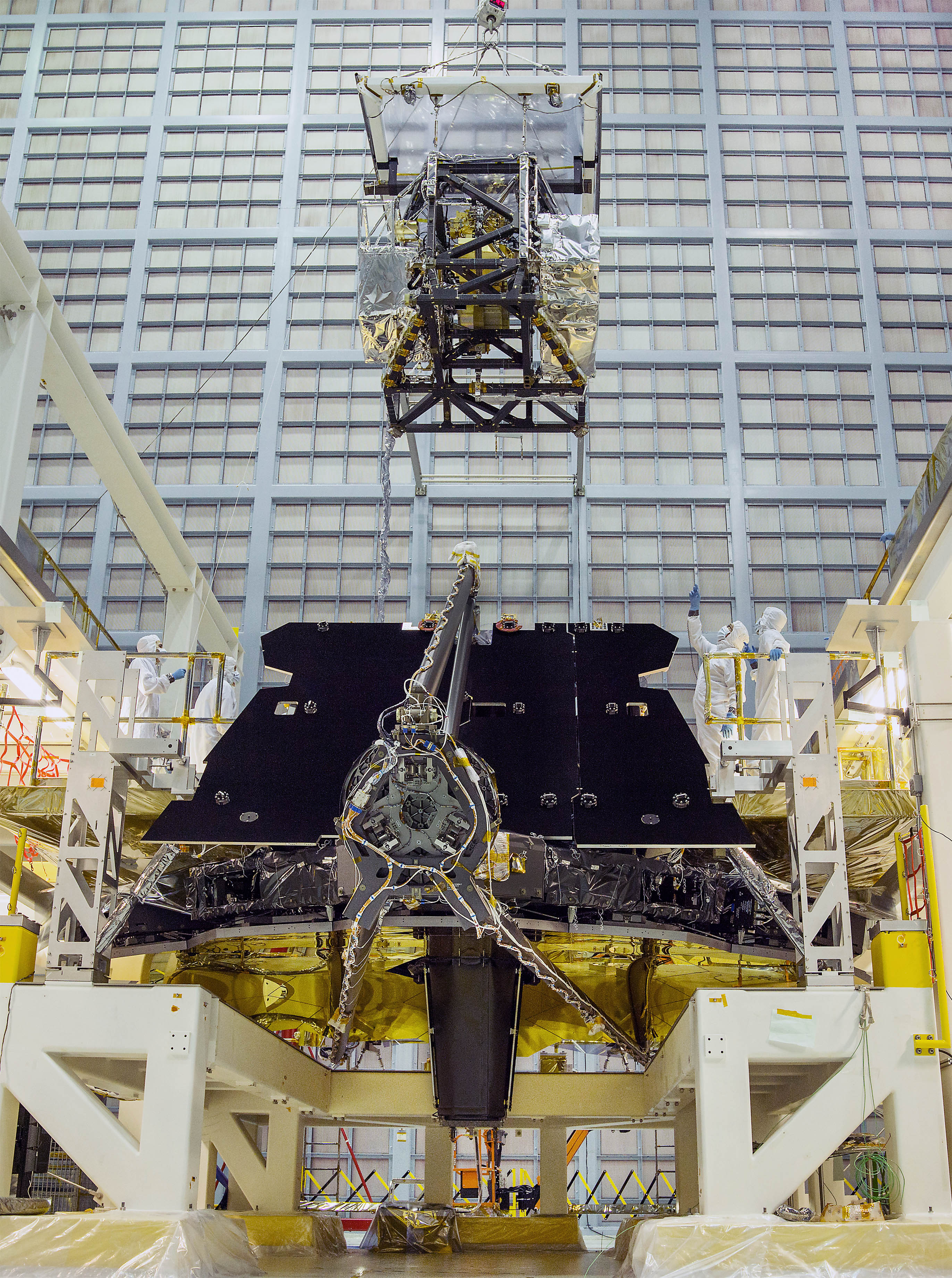 Webb Telescope Science Instruments Installed Successfully