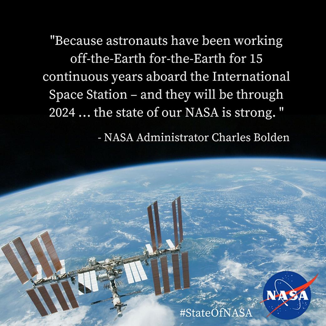 State of NASA 2016 – International Space Station | NASA