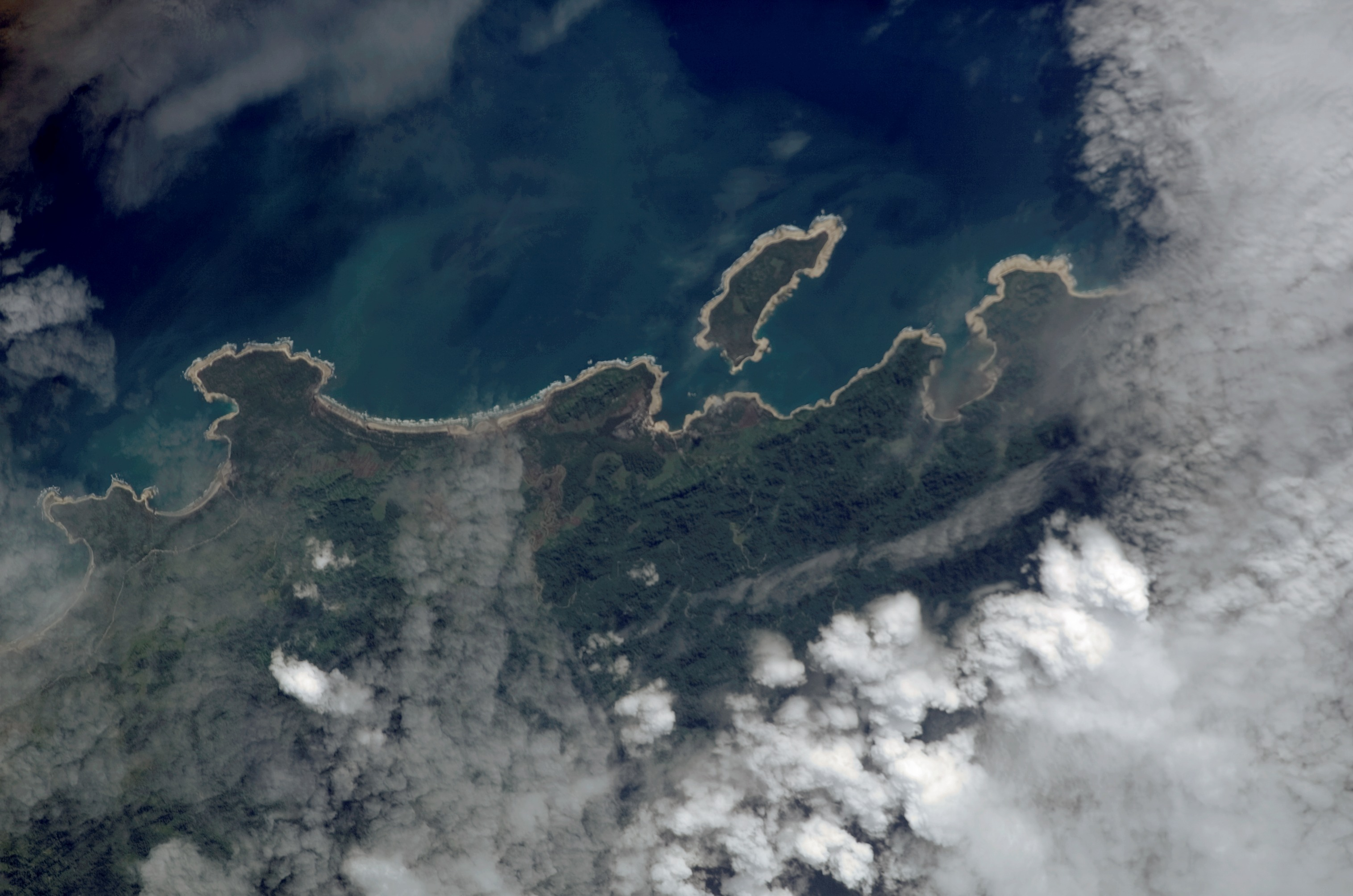 Space Station Captures Tsunami Flooding in Northern Japan ...