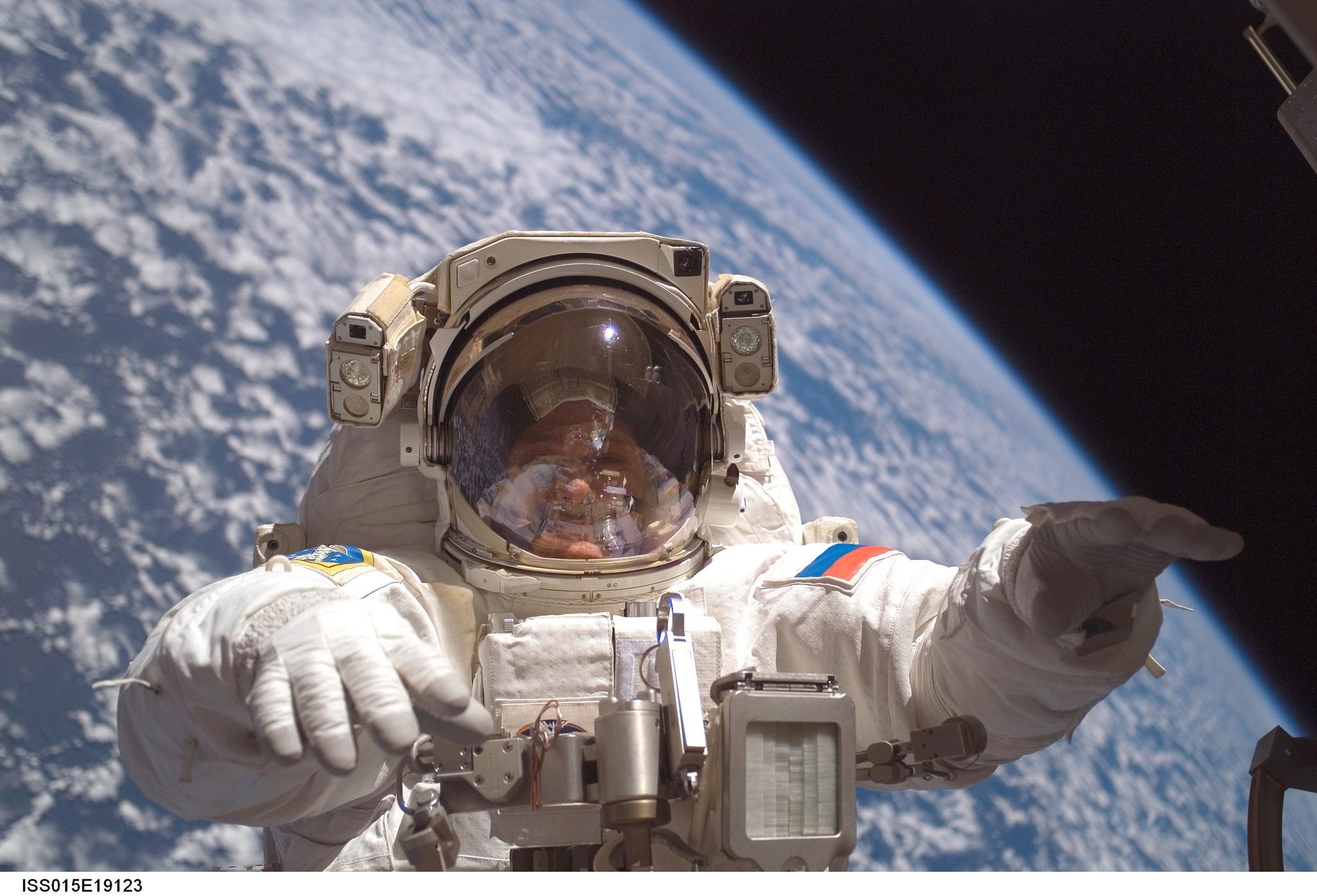 Cómo votan los astronautas desde el espacio