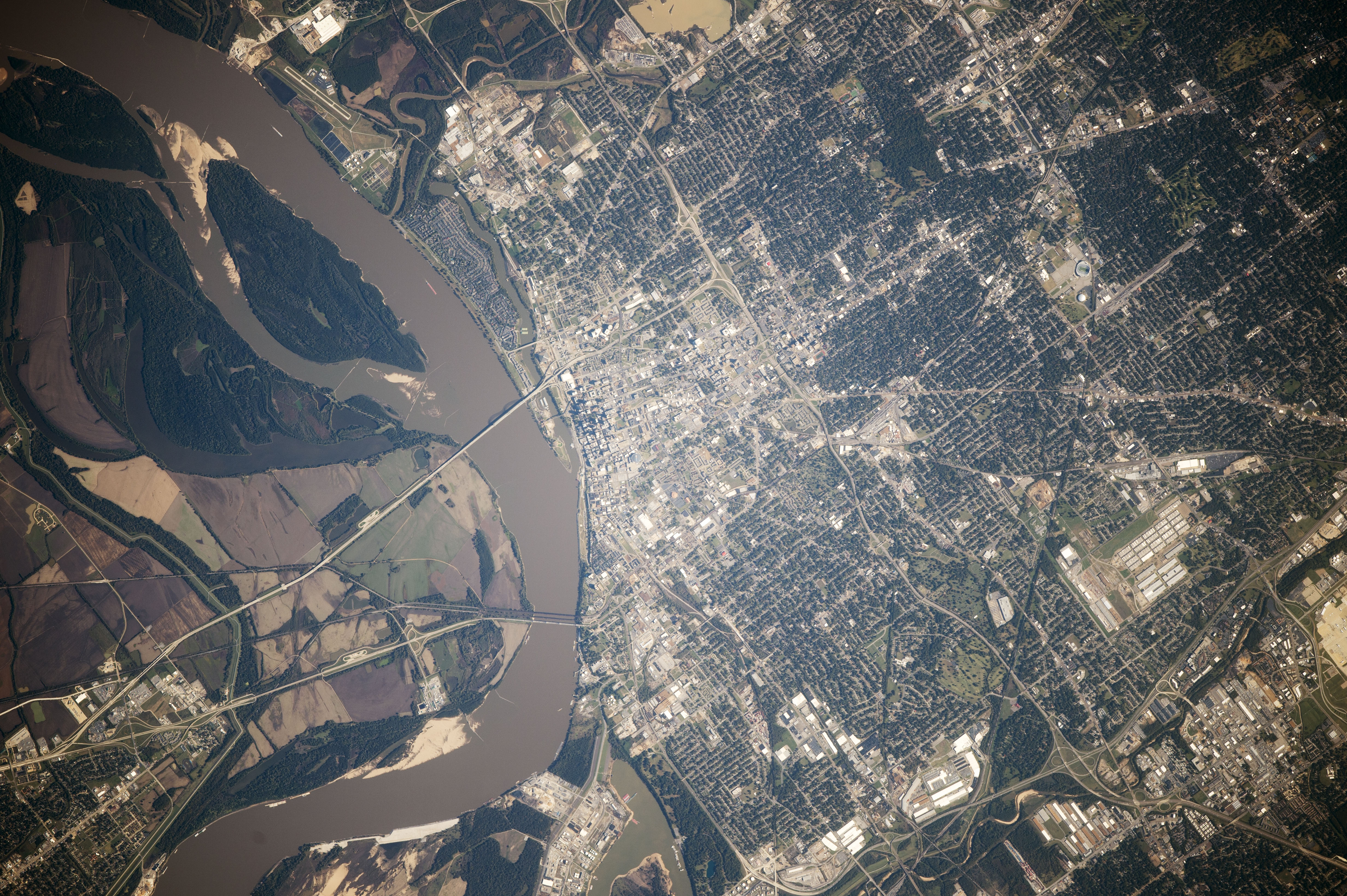 Memphis From Space