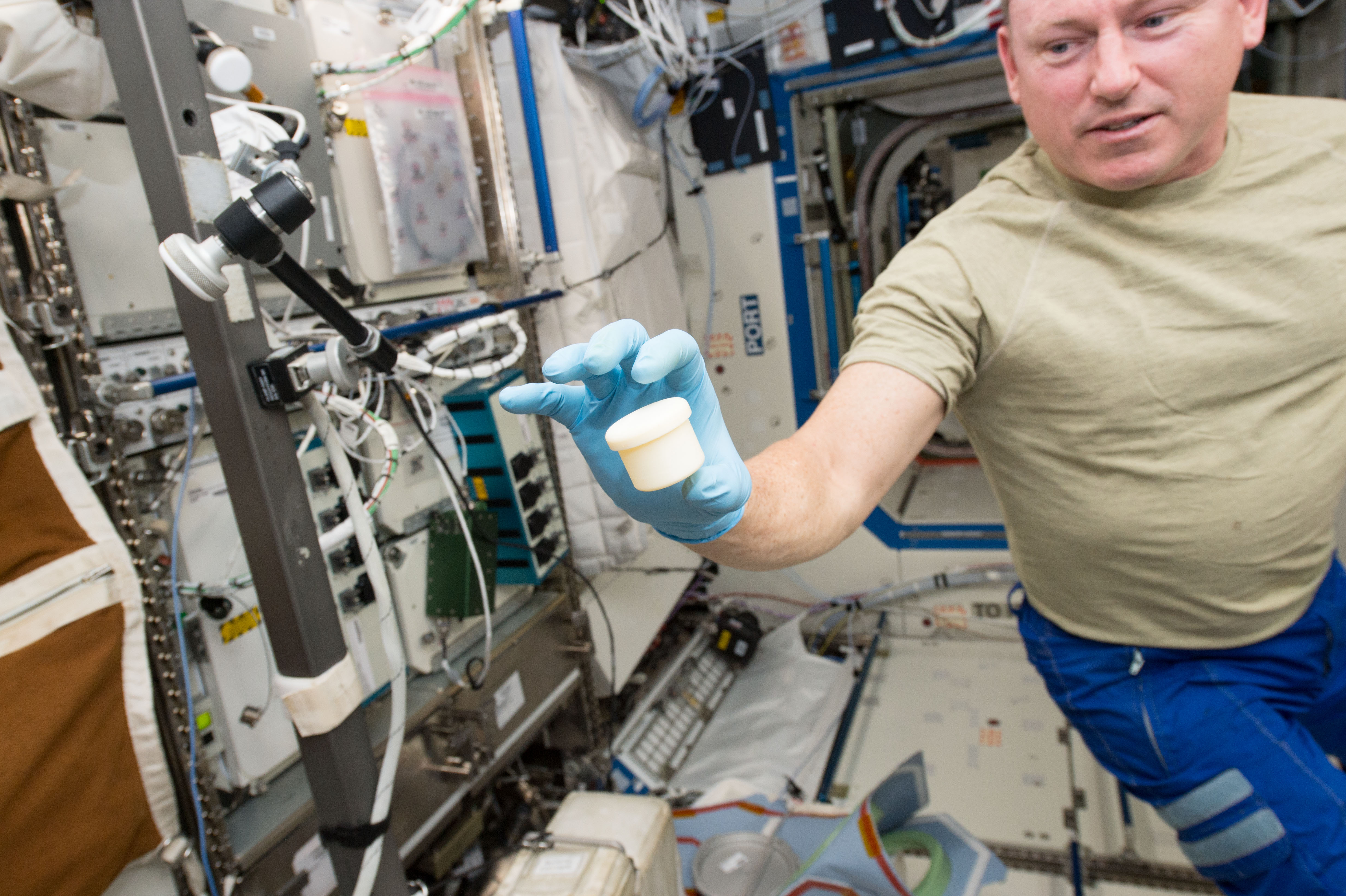 Space Station 3-D Prin...