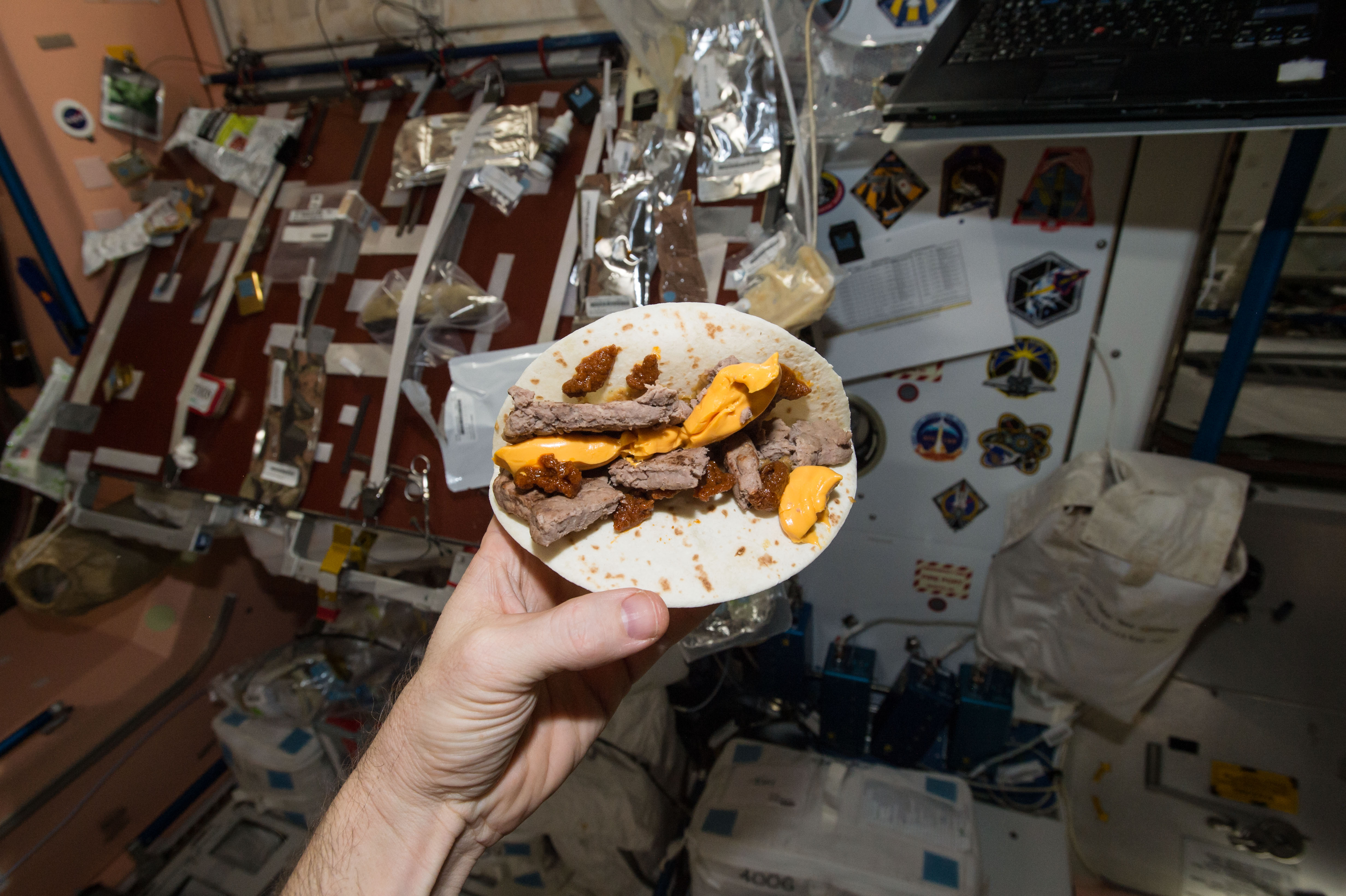 do astronauts eat pizza in space - photo #10
