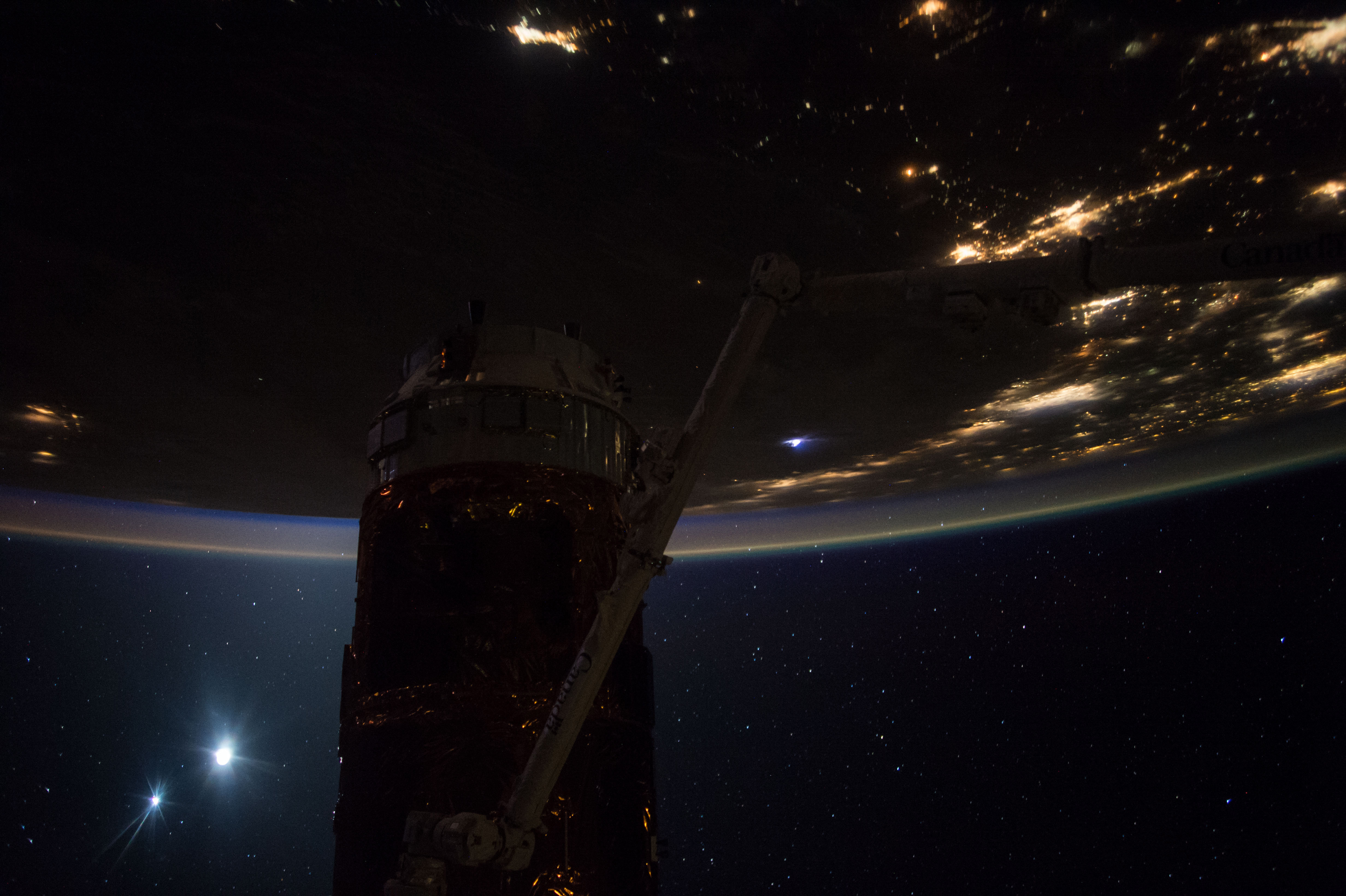 NASA : Good Morning From the International Space Station ...