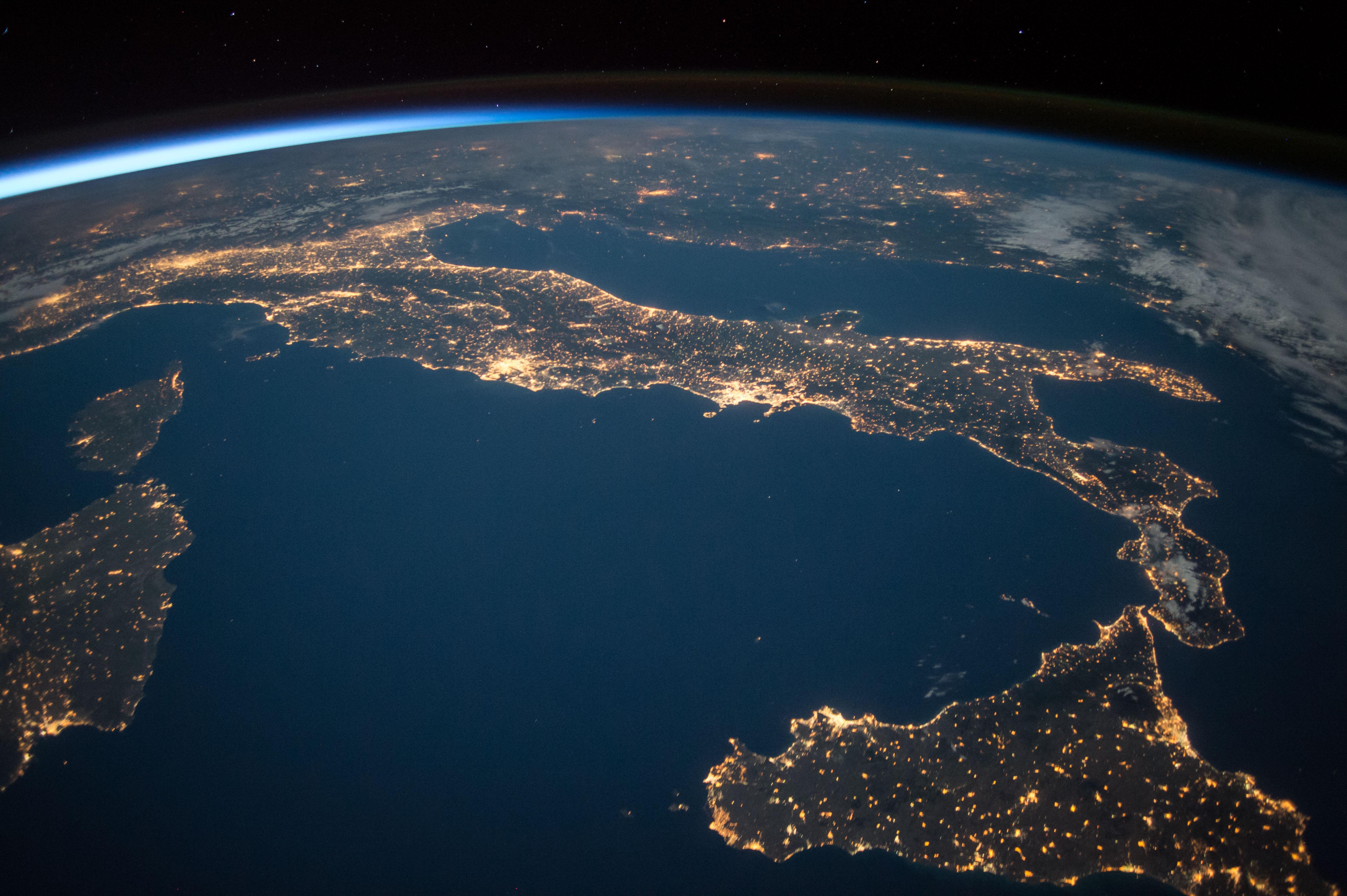 ночная земля фото высокое качество что ещё можно
