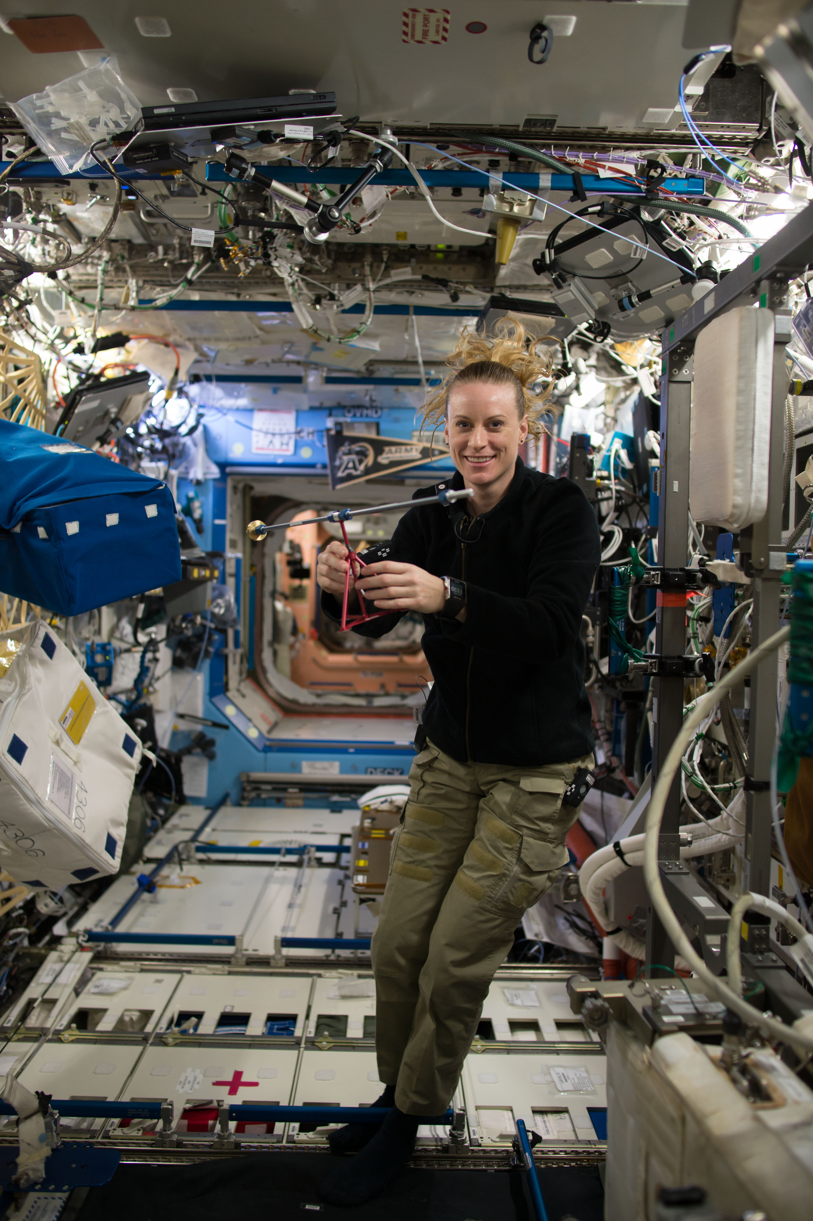 Story Time From Space: In-Orbit Readings and Science to