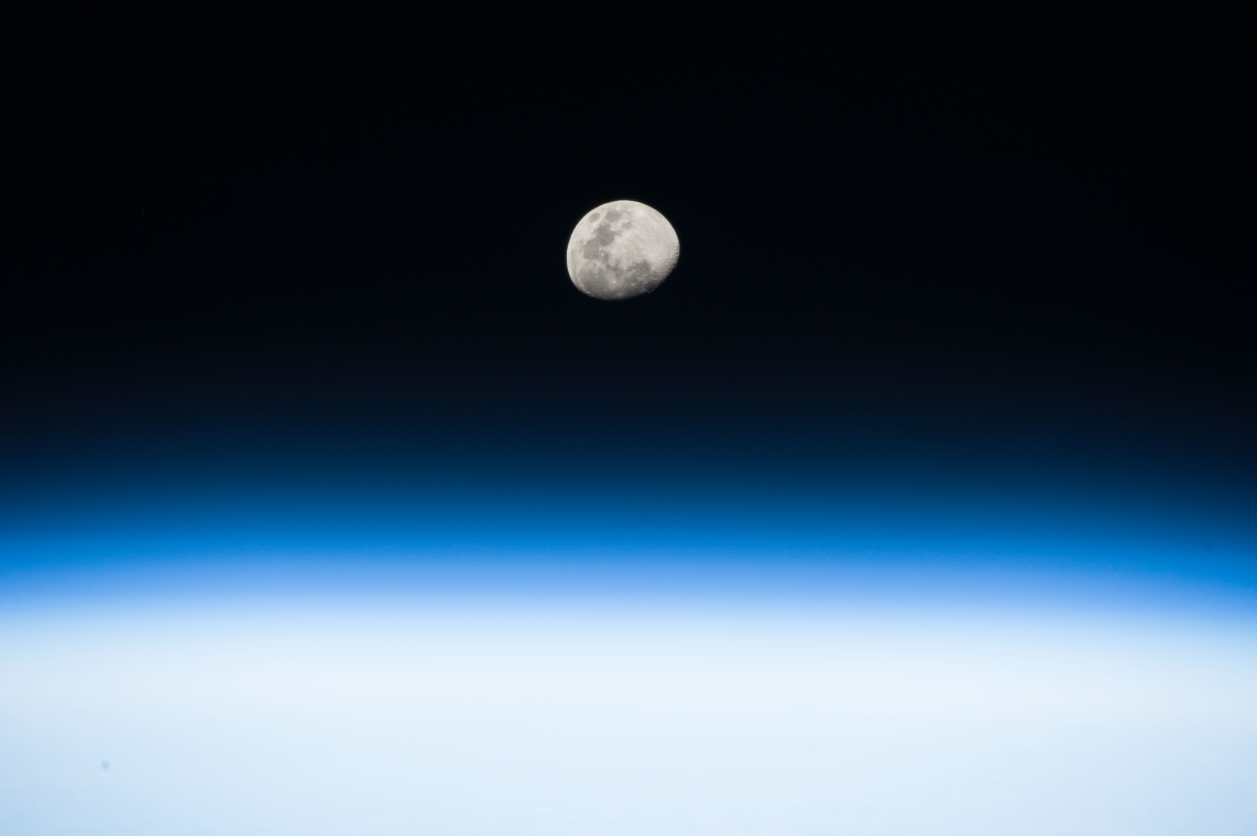Moon Rise From The Space Station Sound Books