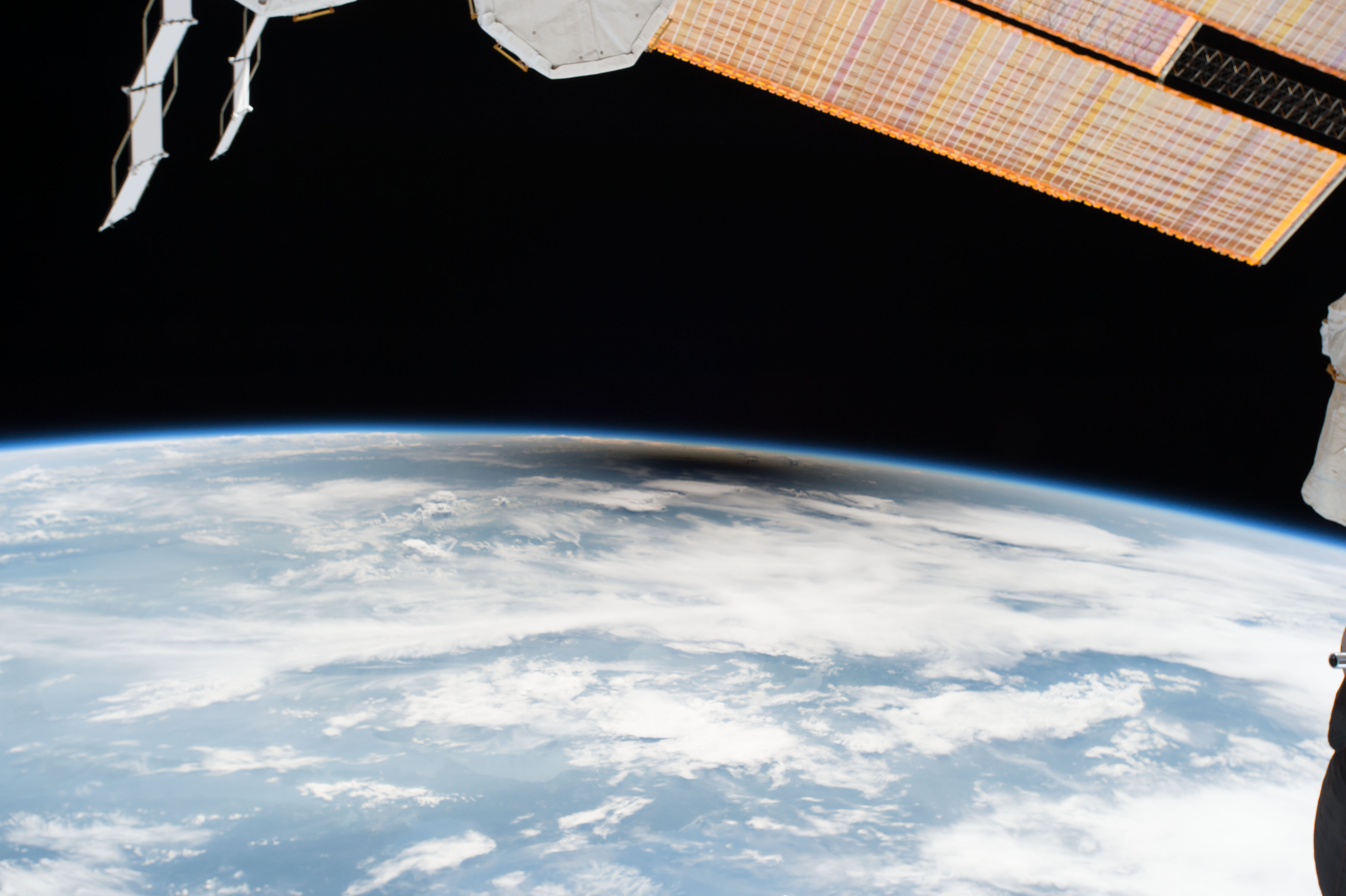 The Eclipse 2017 Umbra Viewed from Space   NASA