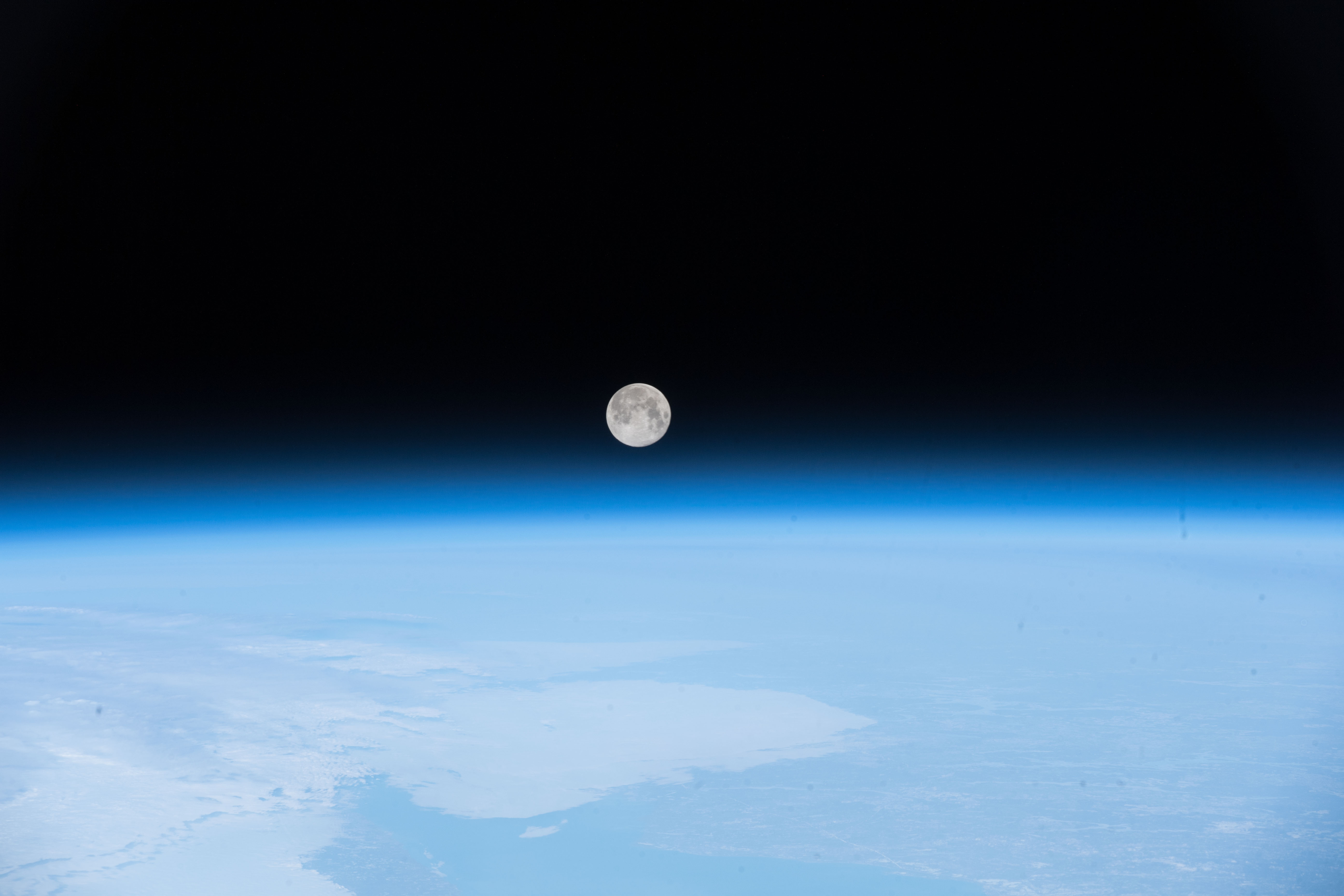 Full Moon Over Newfoundland
