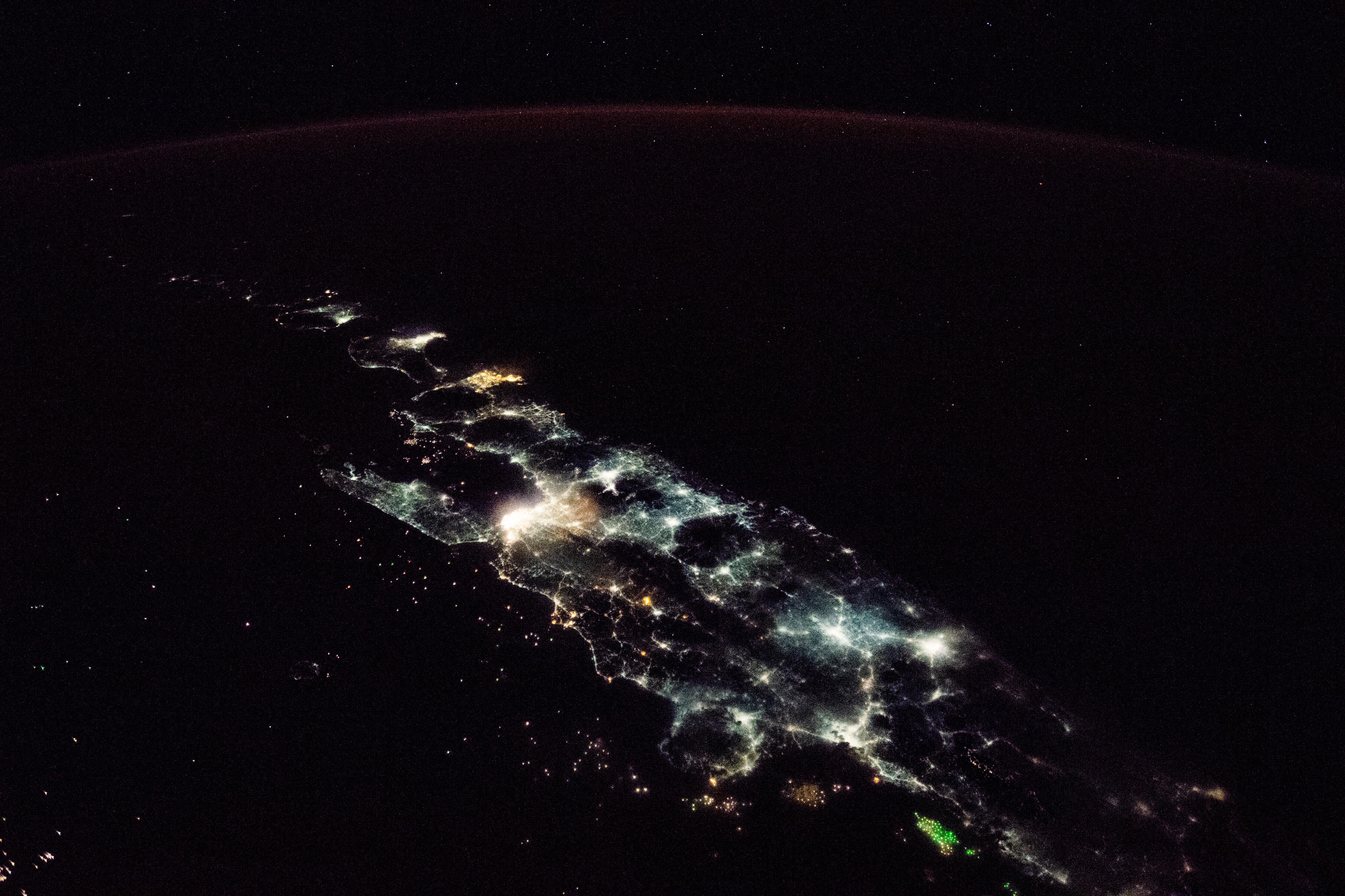 Lights of Java