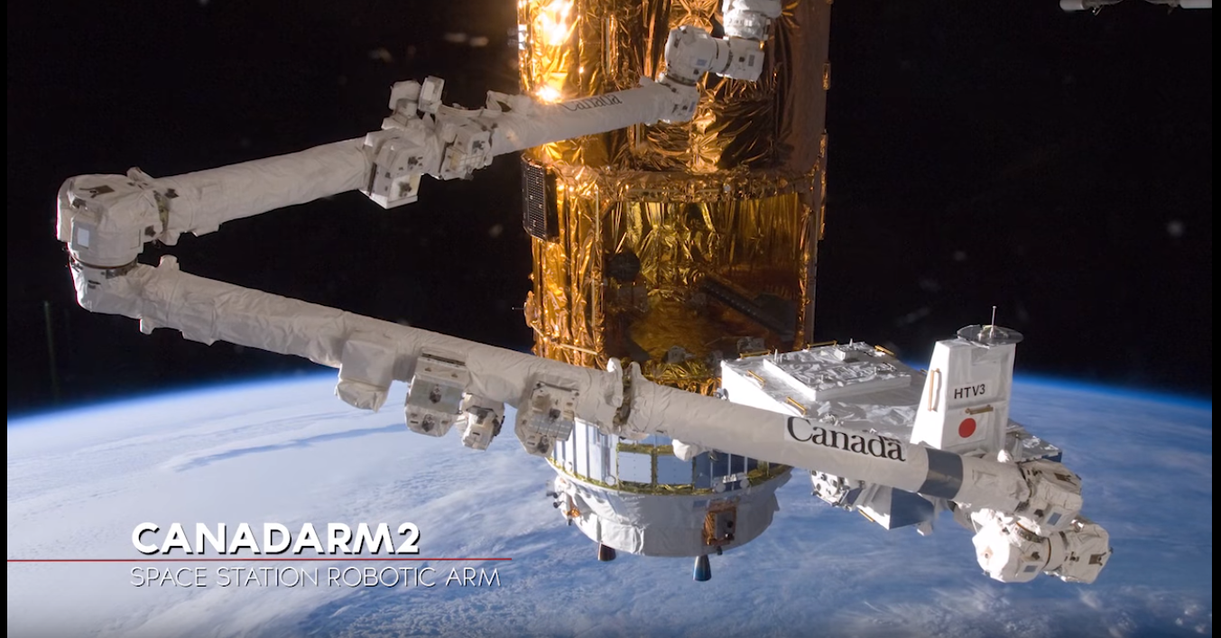 Space Station Robotic Arms Have a Long Reach | NASA