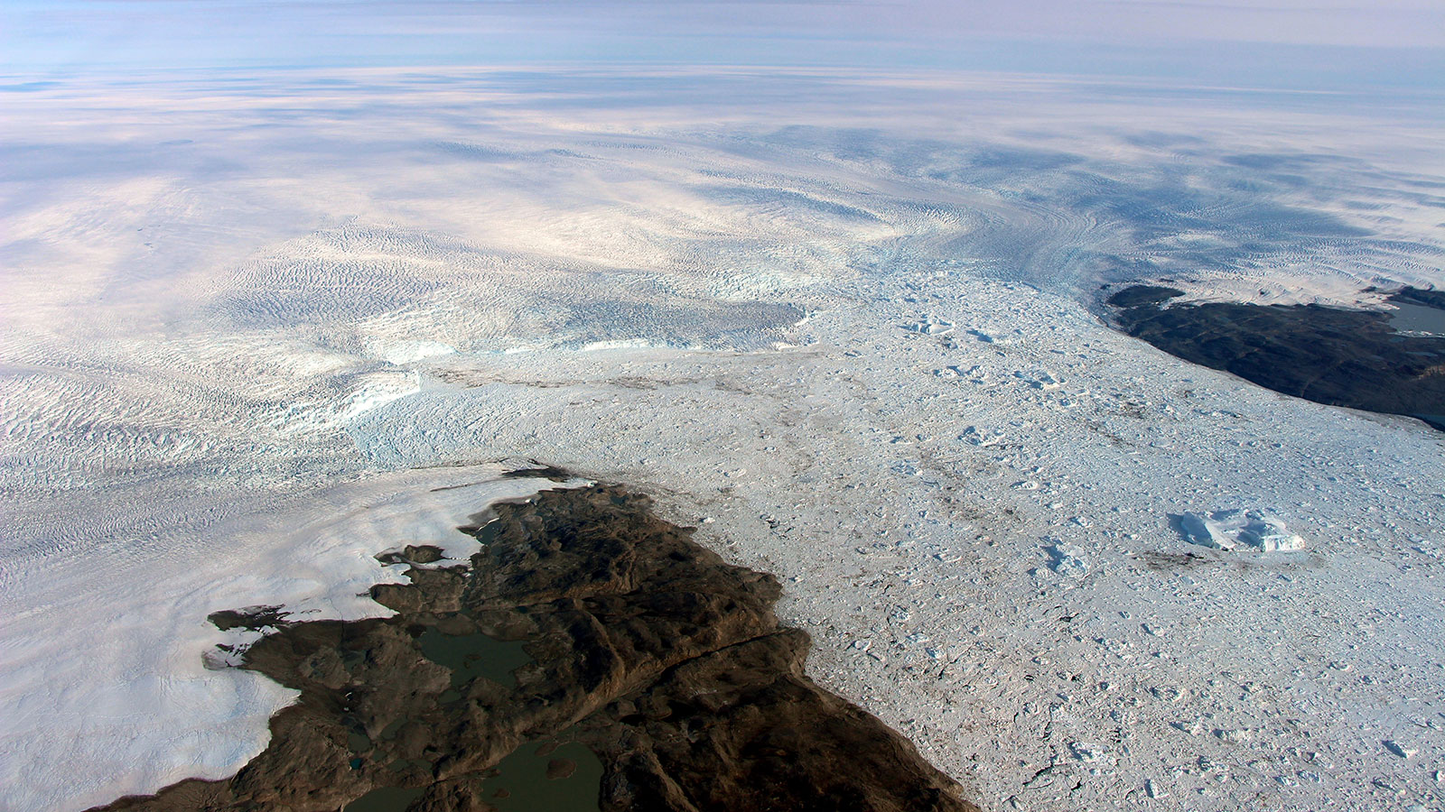 Image: Cold Water Currently Slowing Fastest Greenland Glacier
