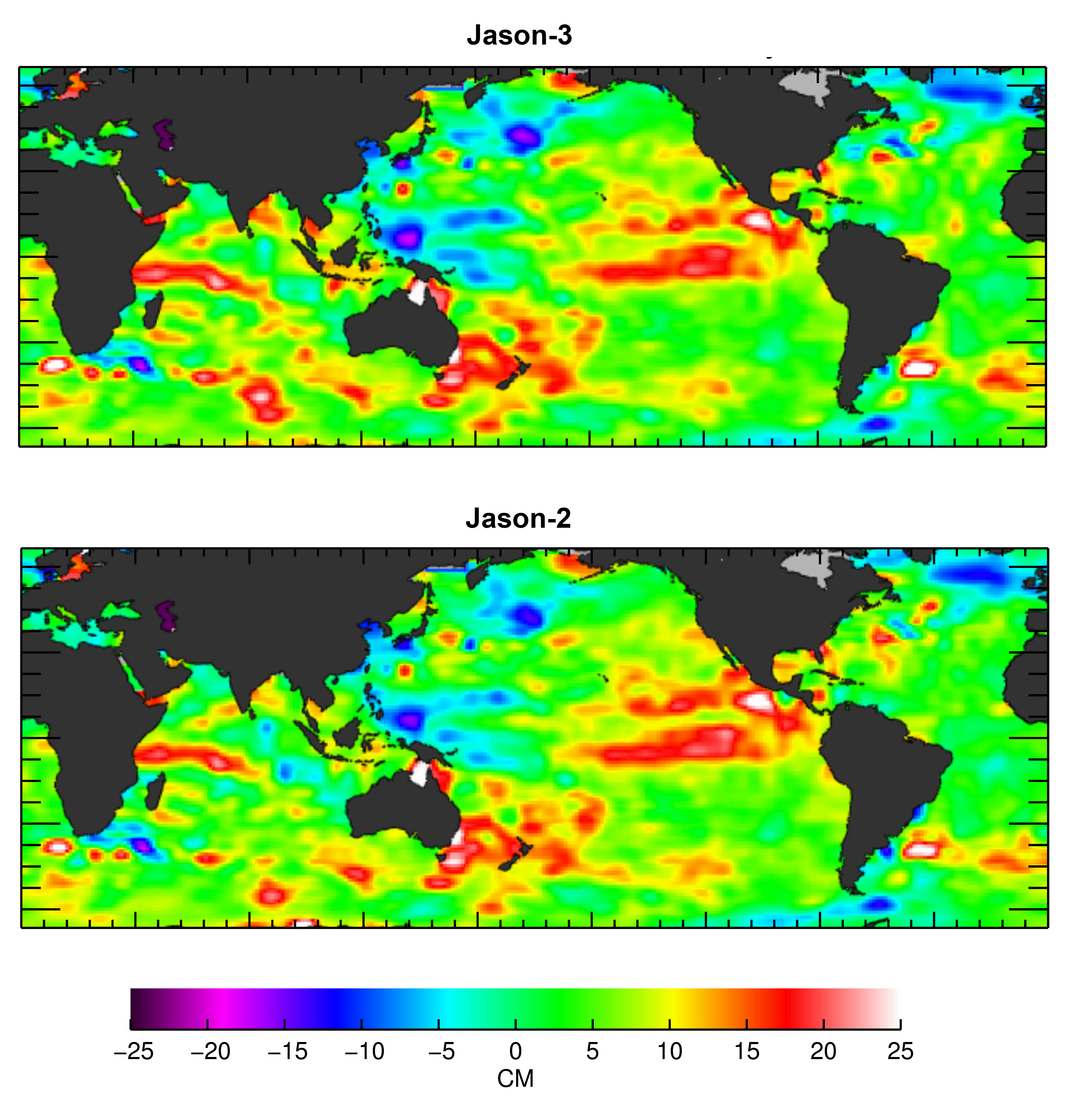 Jason 3 Begins Mapping Oceans Sees Ongoing El Nino