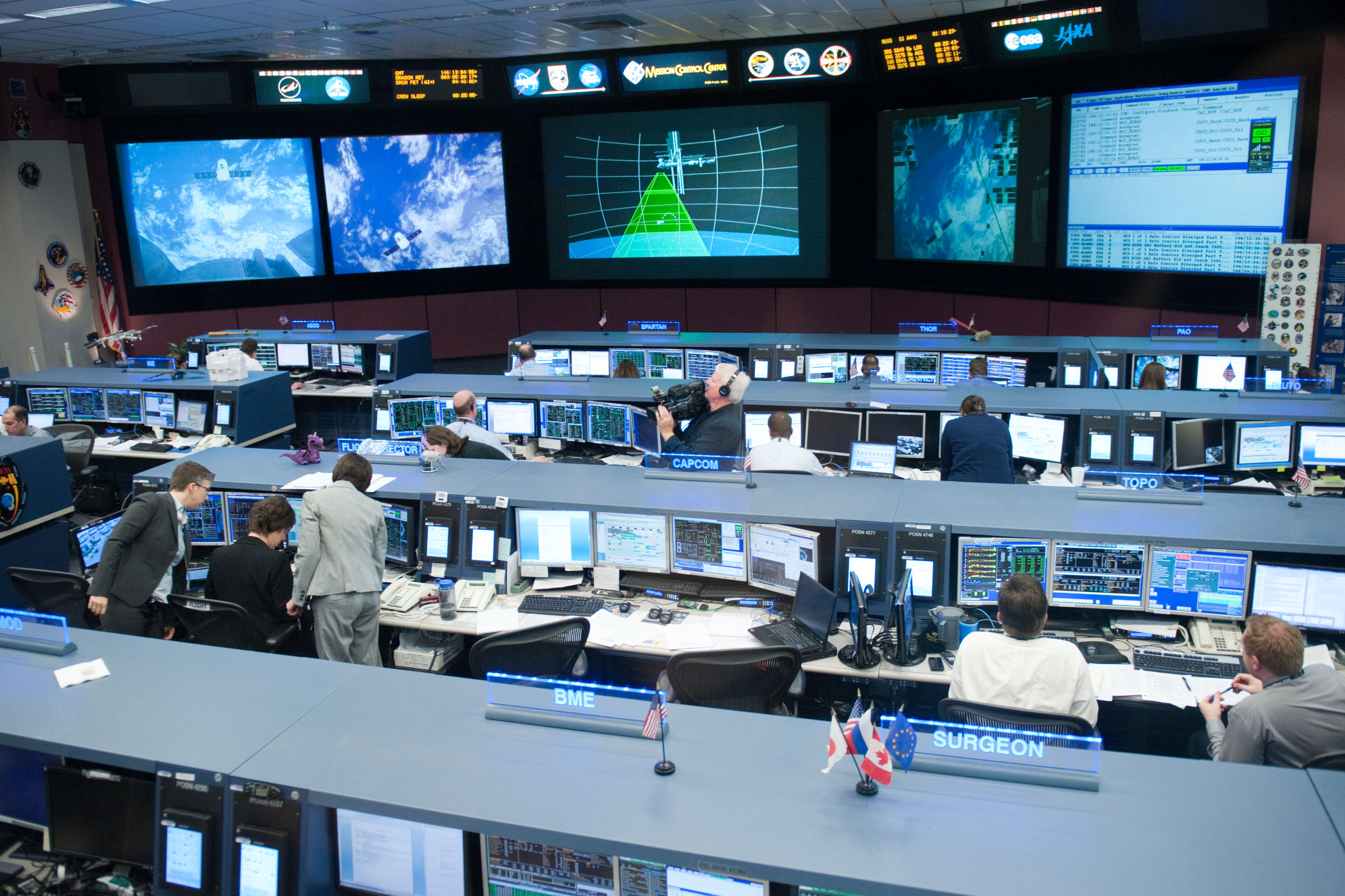 spacex launch control center - photo #20