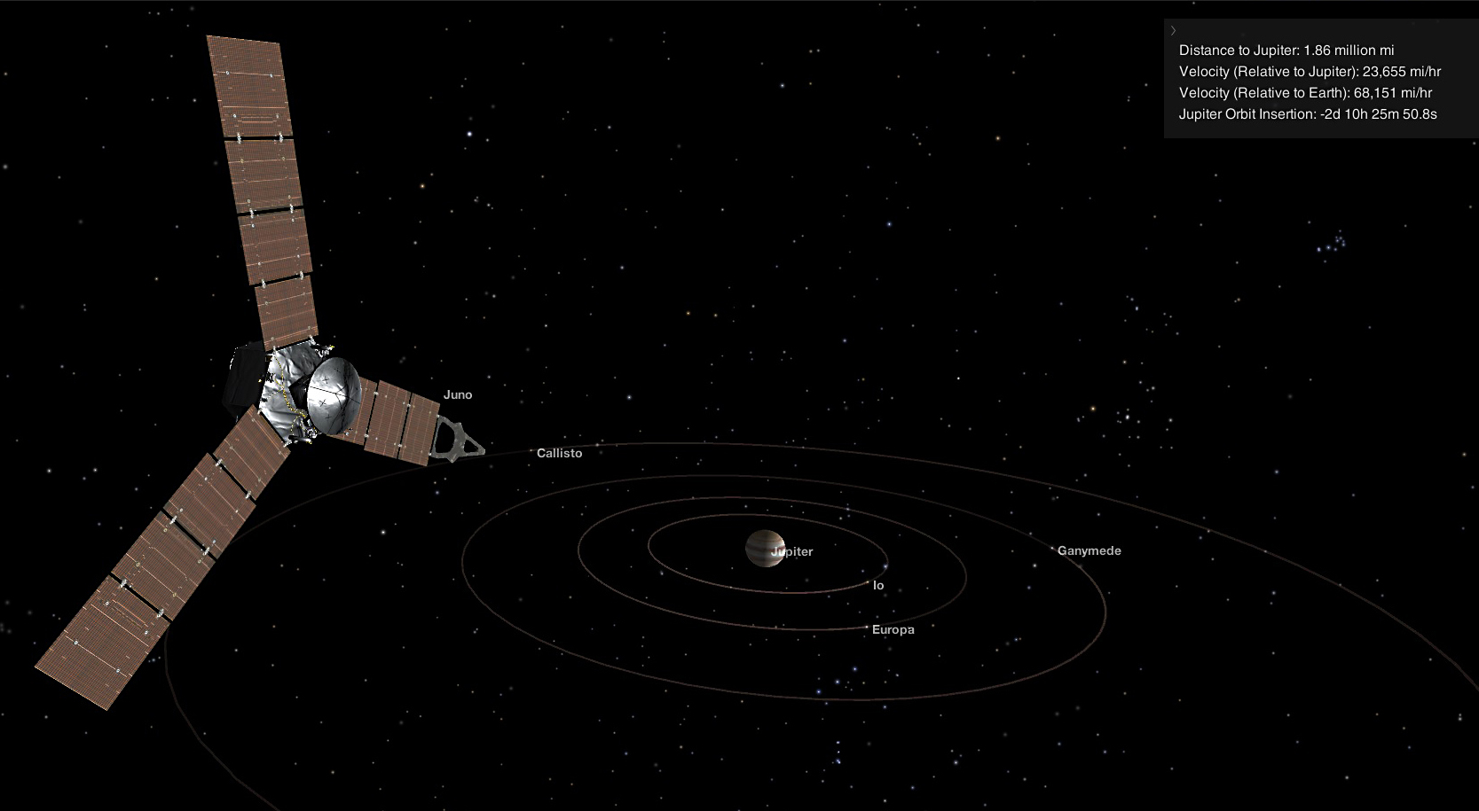 juno enters orbit around jupiter nasa