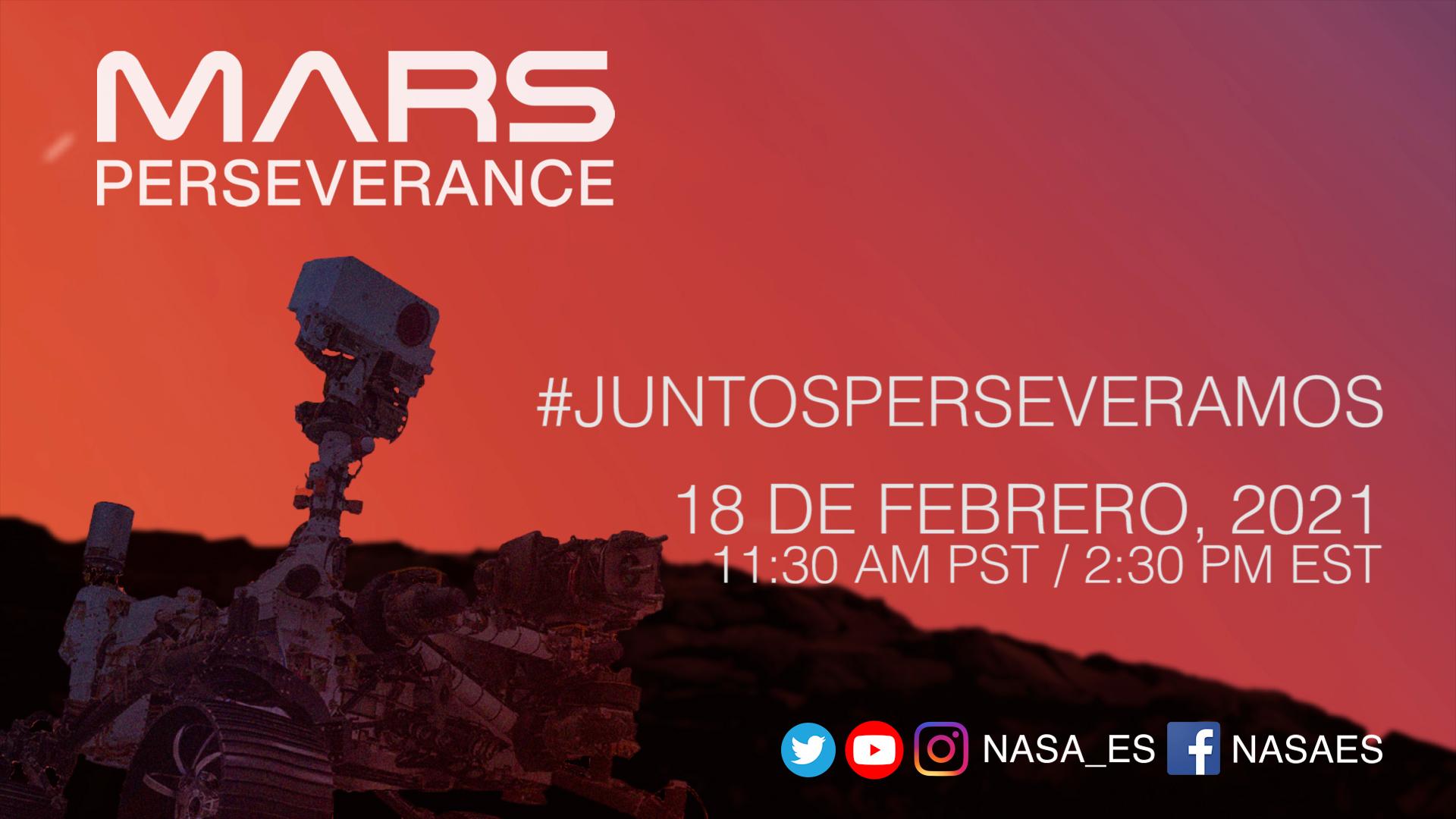 Nasa Programa En Español Del Aterrizaje De Perseverance Nasa