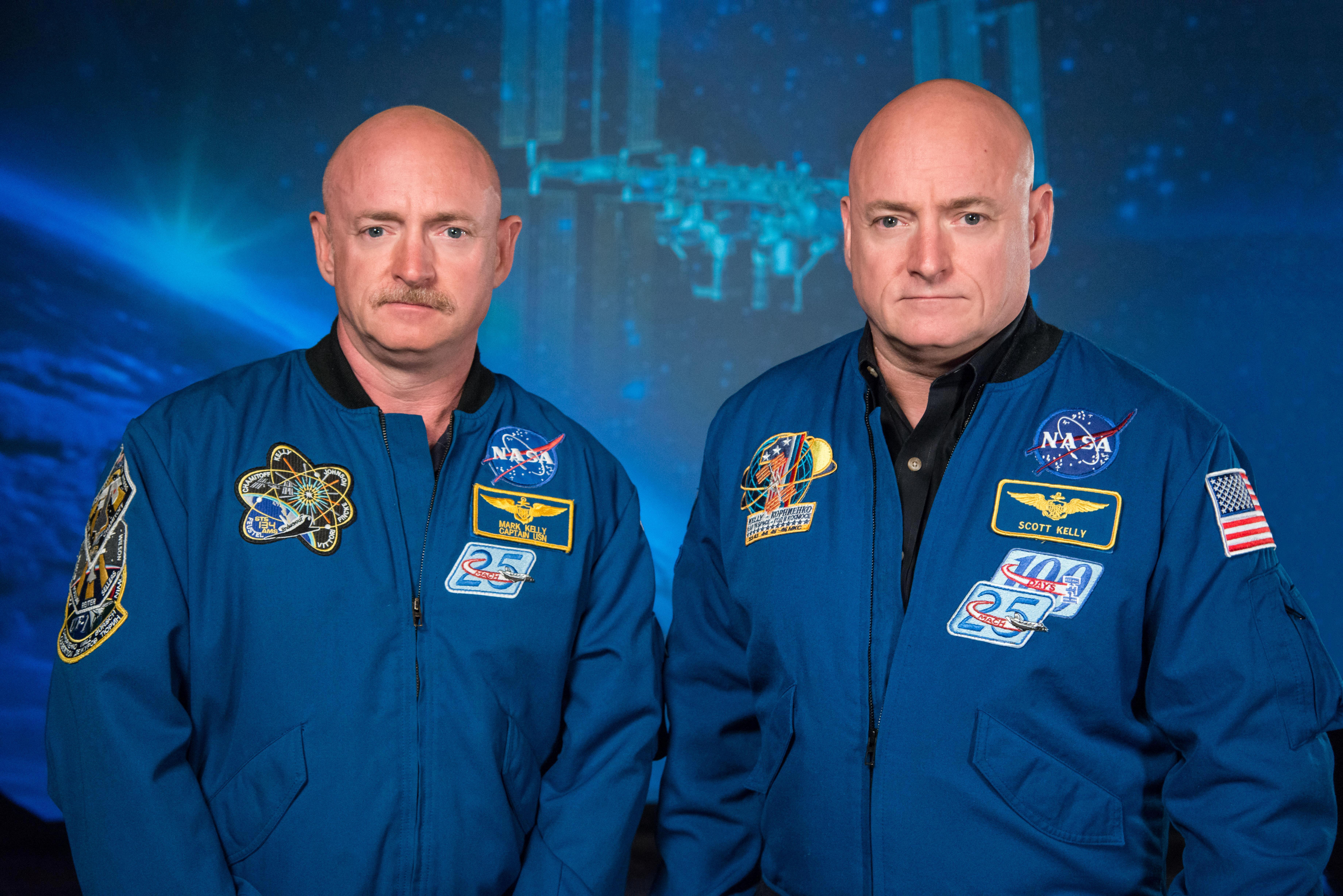 Image result for Pictures of President Obama, Scott Kelly and Mark Kelly