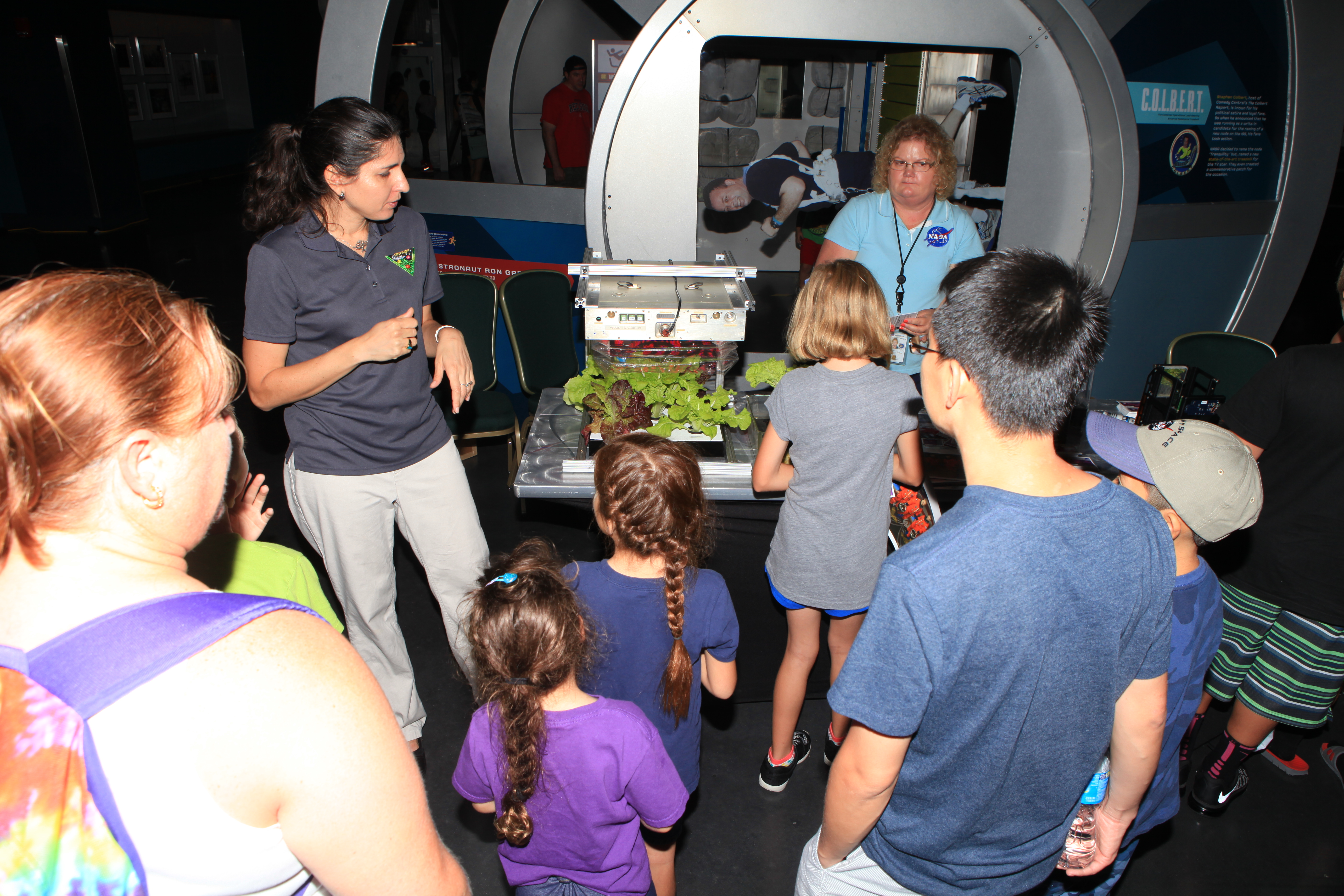 Worksheet Nasa Kids Program science wows kids families at community day nasa day
