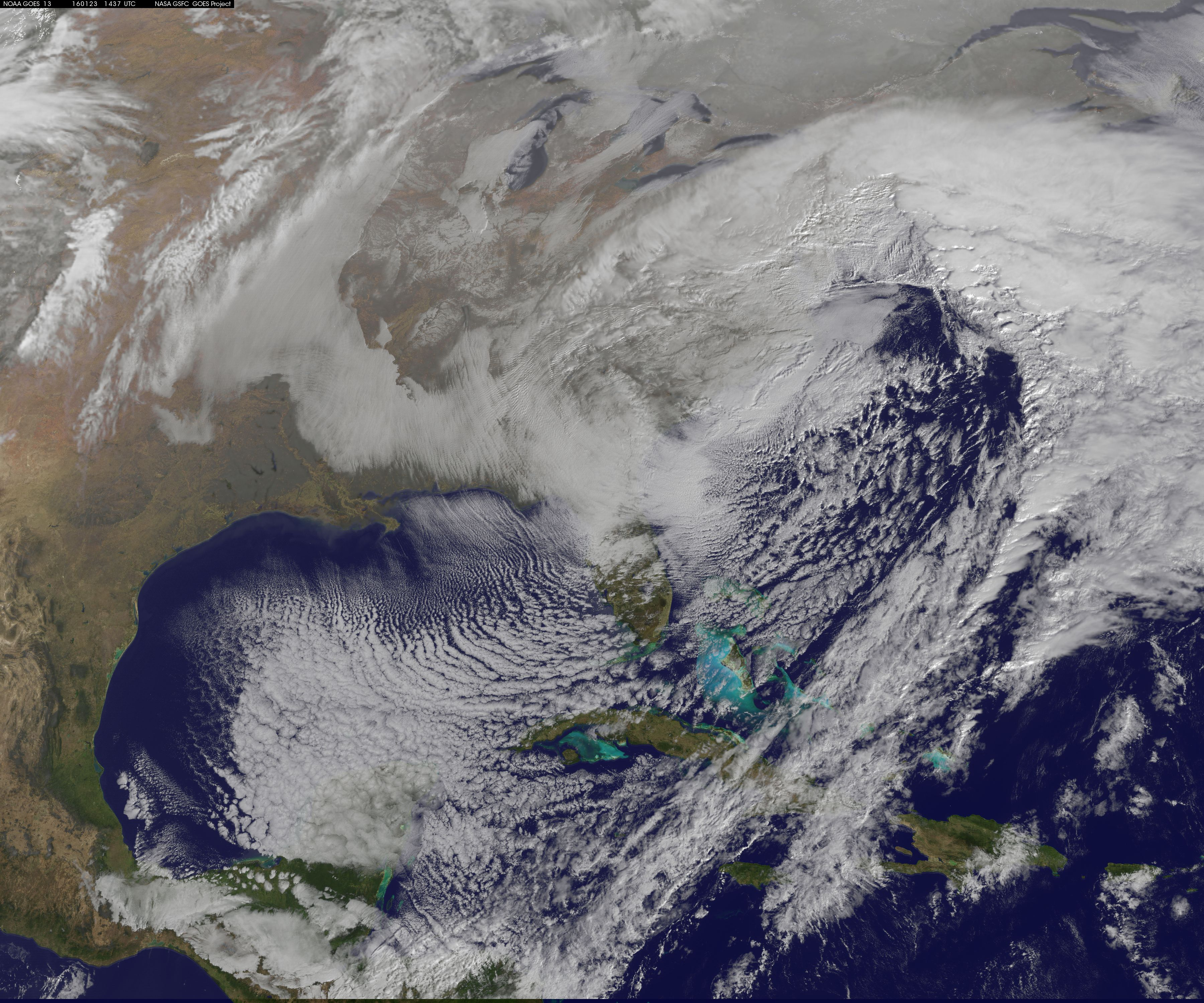 Goes East Image Of Blizzard 2016