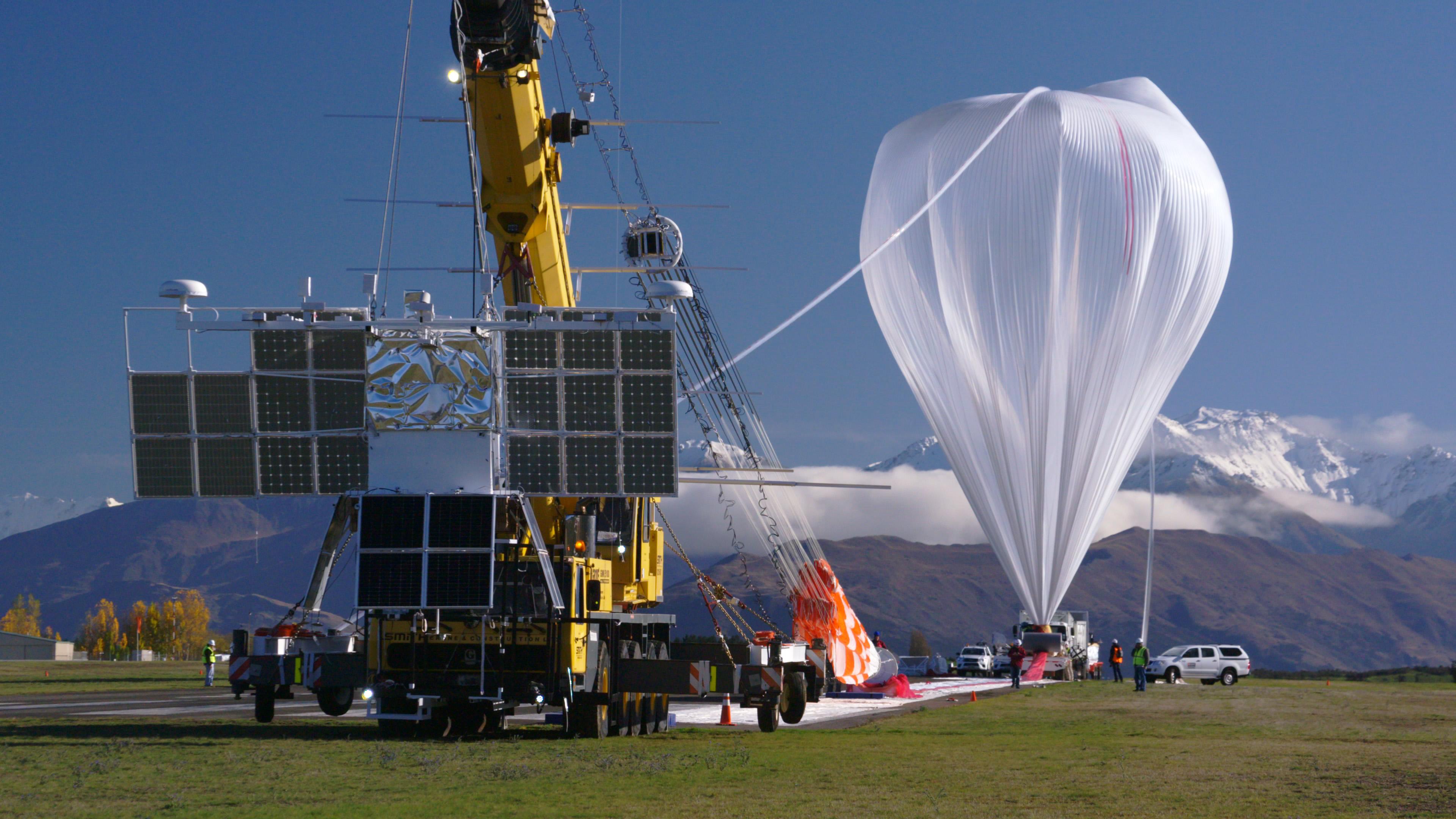 NASA Super Pressure Balloon Begins Globetrotting Journey | NASA