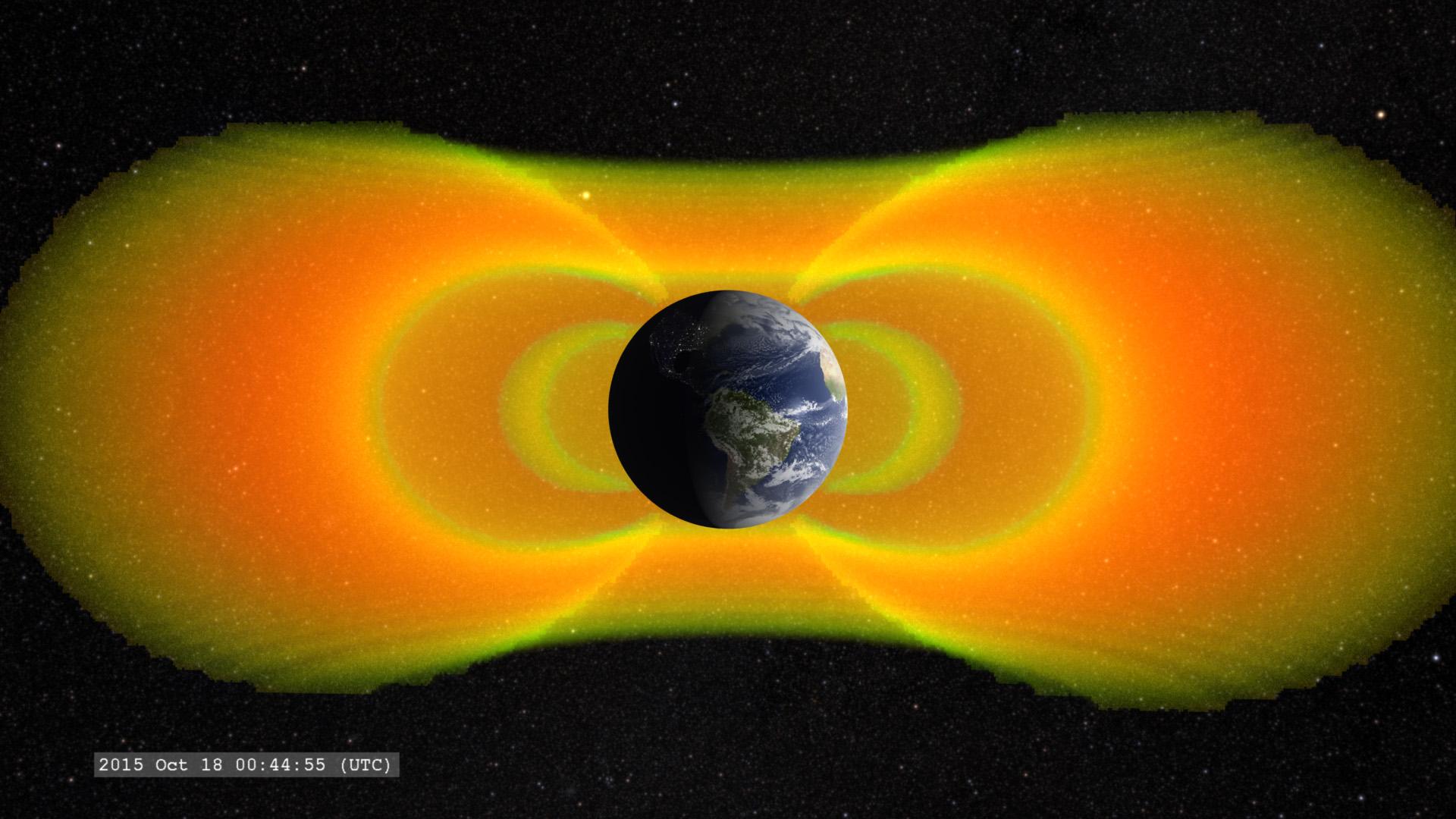 Relativistic Electrons Uncovered with NASA's Van Allen Probes | NASA