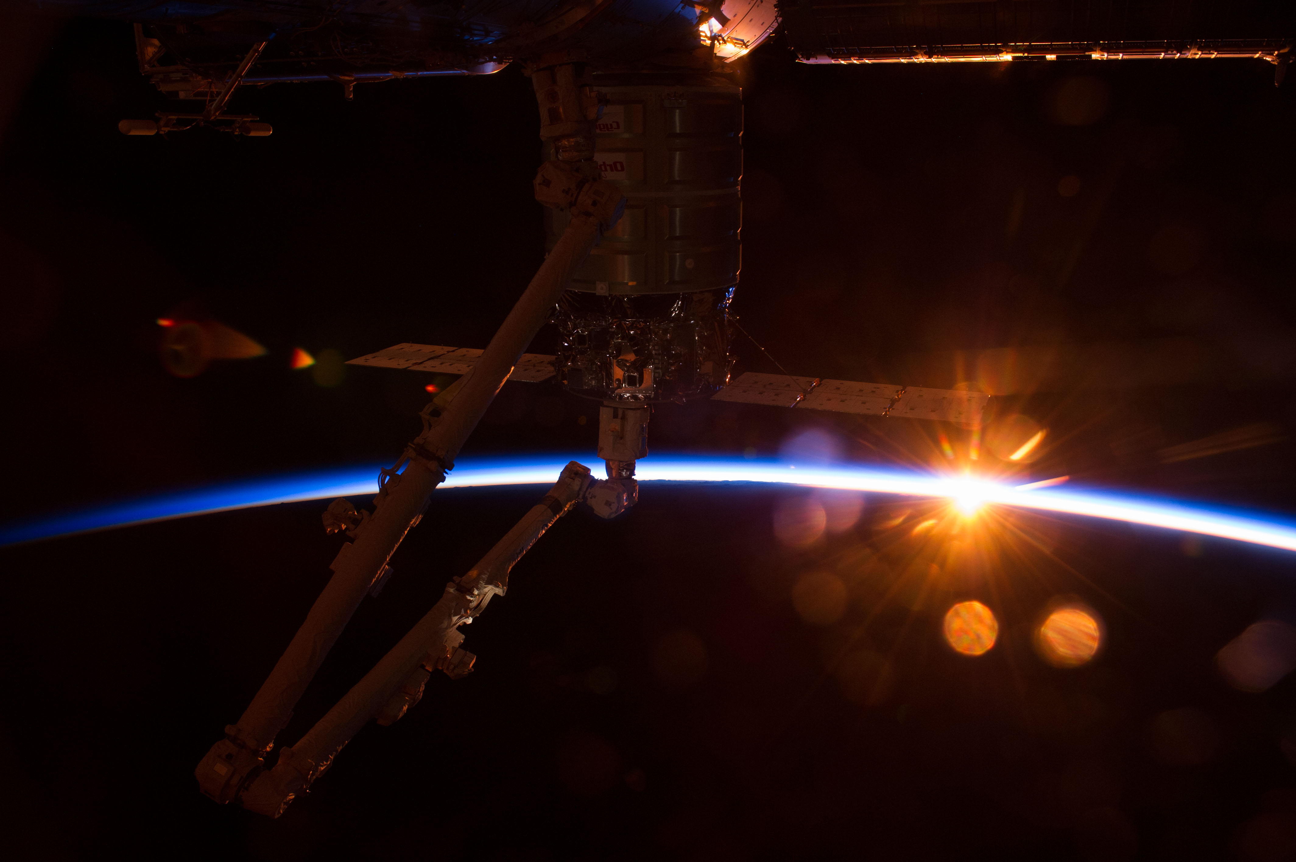 NASA Opens International Space Station to New Commercial