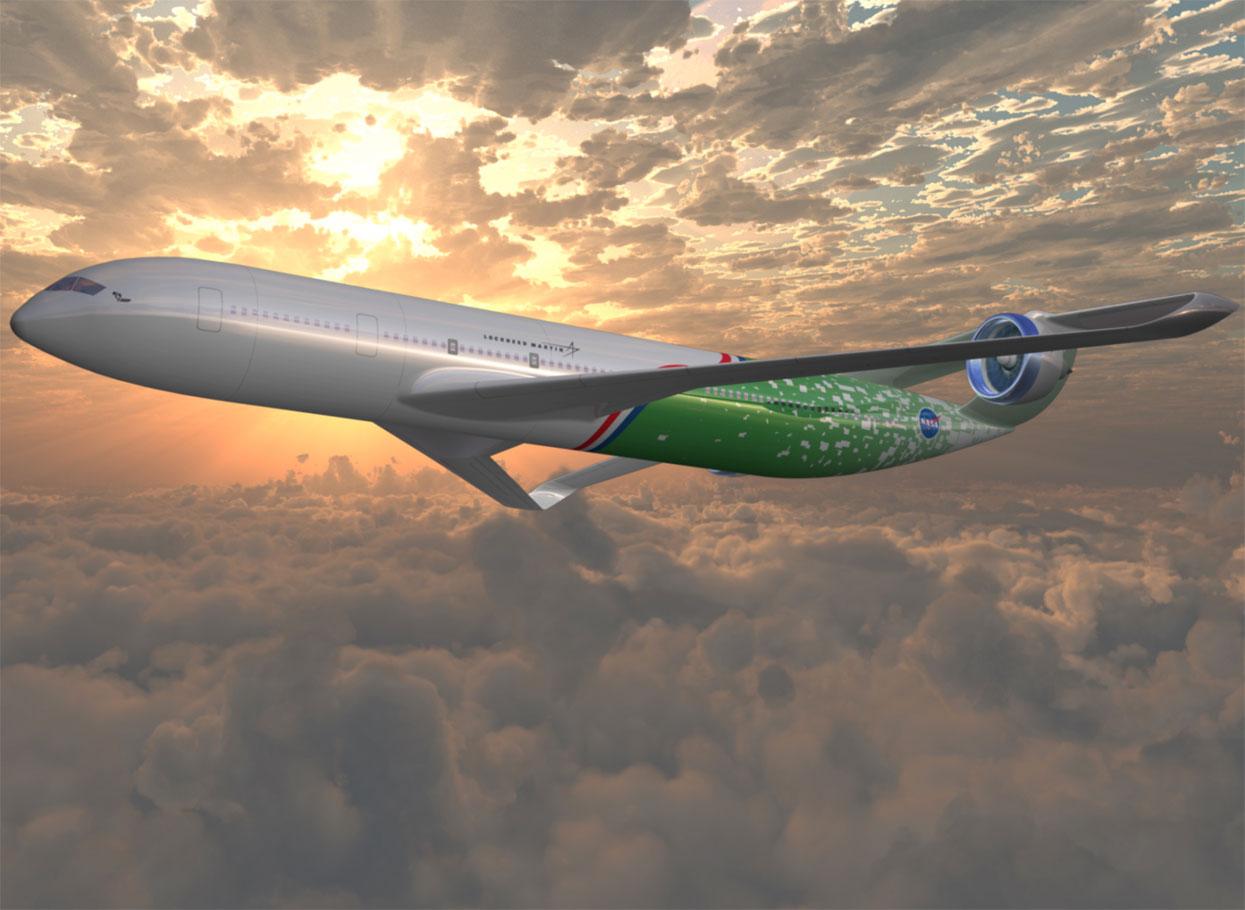 Questions About NextGen Part NASA - Examples future planes look according nasa