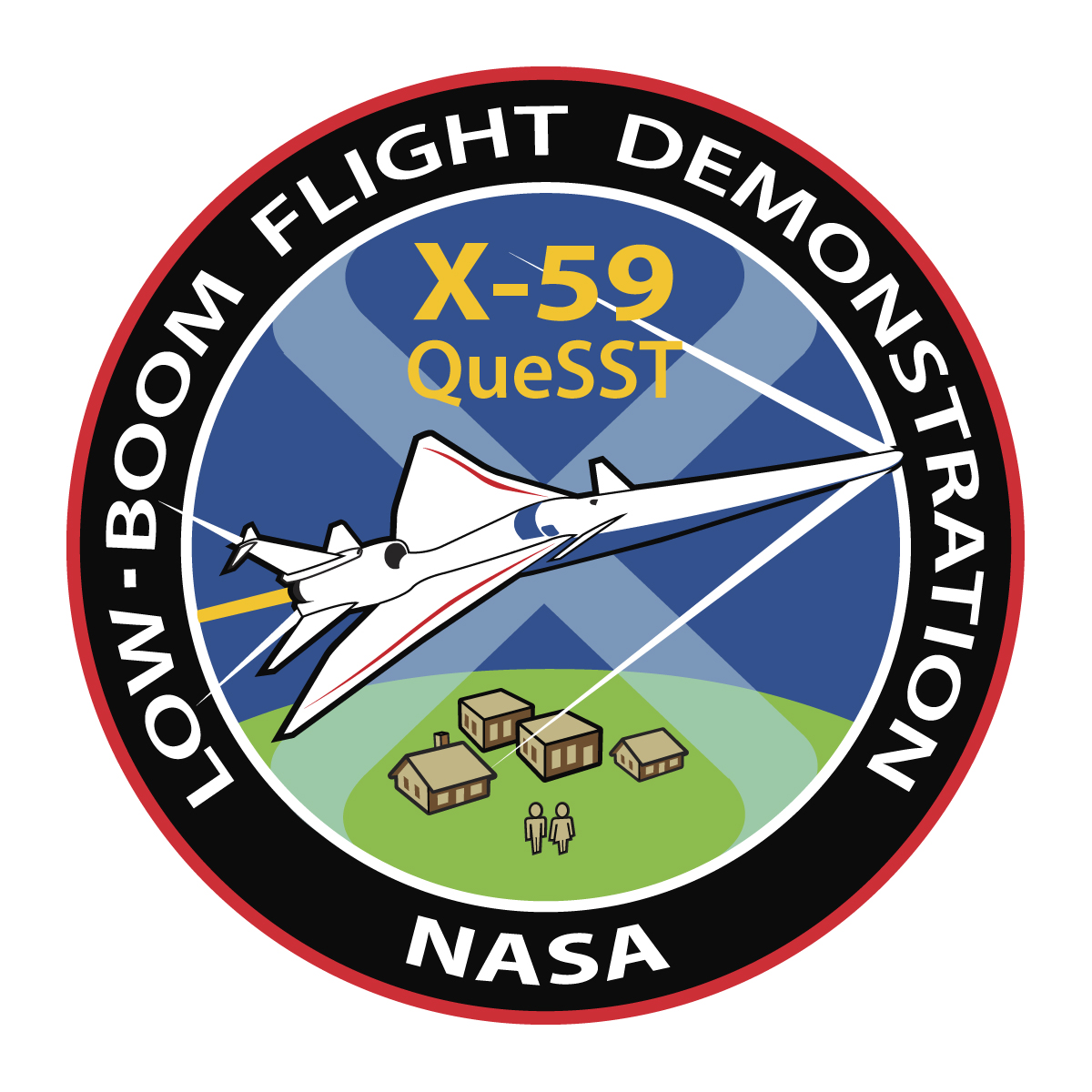 Patch for X-59 SST