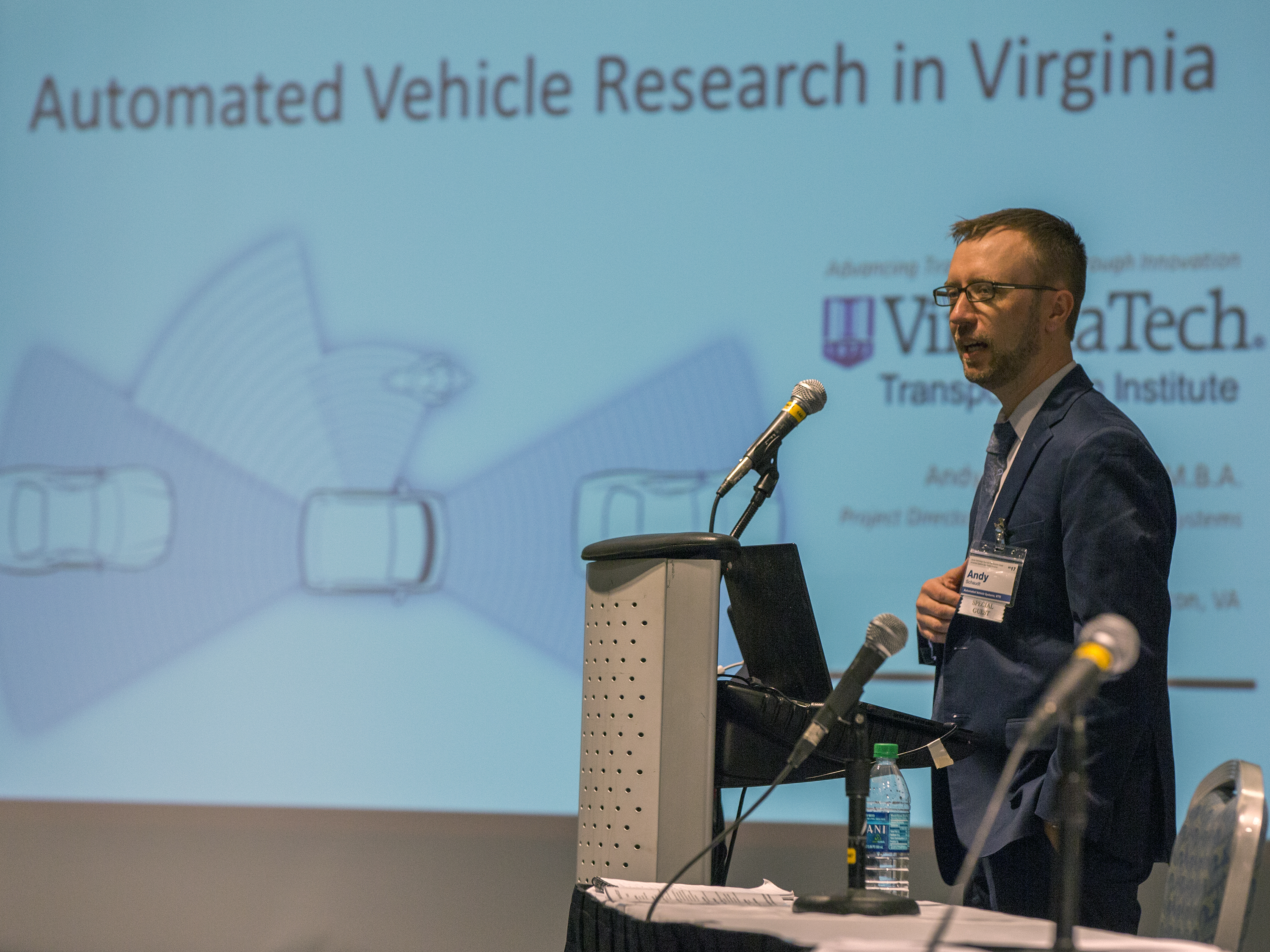 Andy Schaudt, Project Director Of Automated Vehicle Systems At The Virginia  Tech Transportation