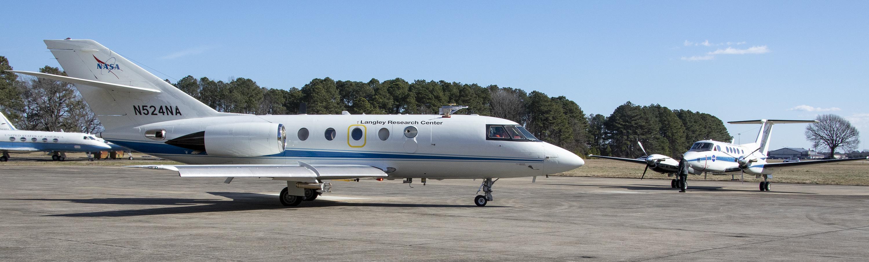 HU-25 Falcon and King Air