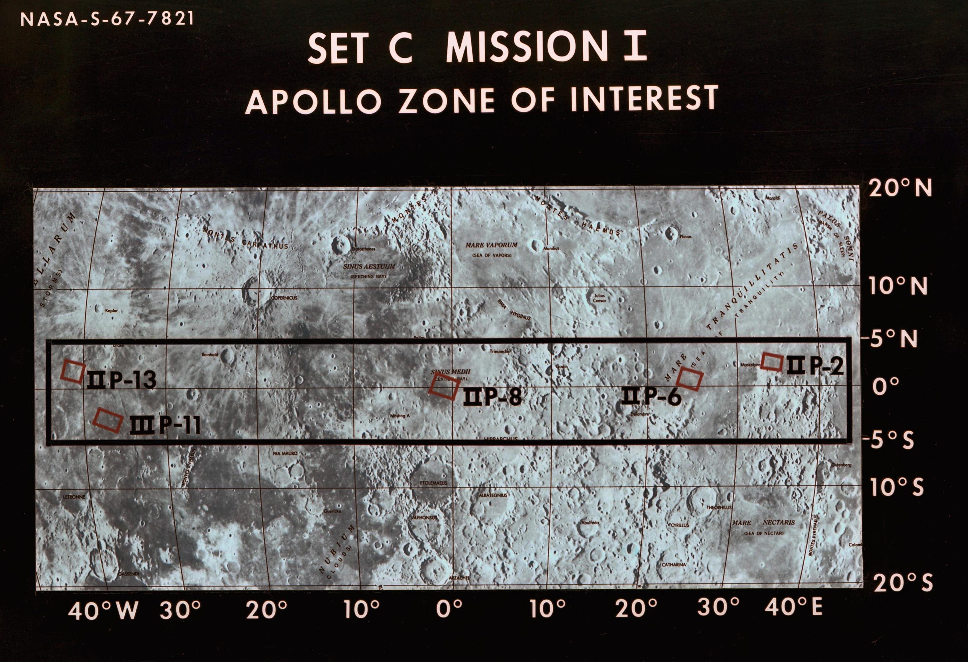 50 Years Ago: Lunar Landing Sites Selected | NASA