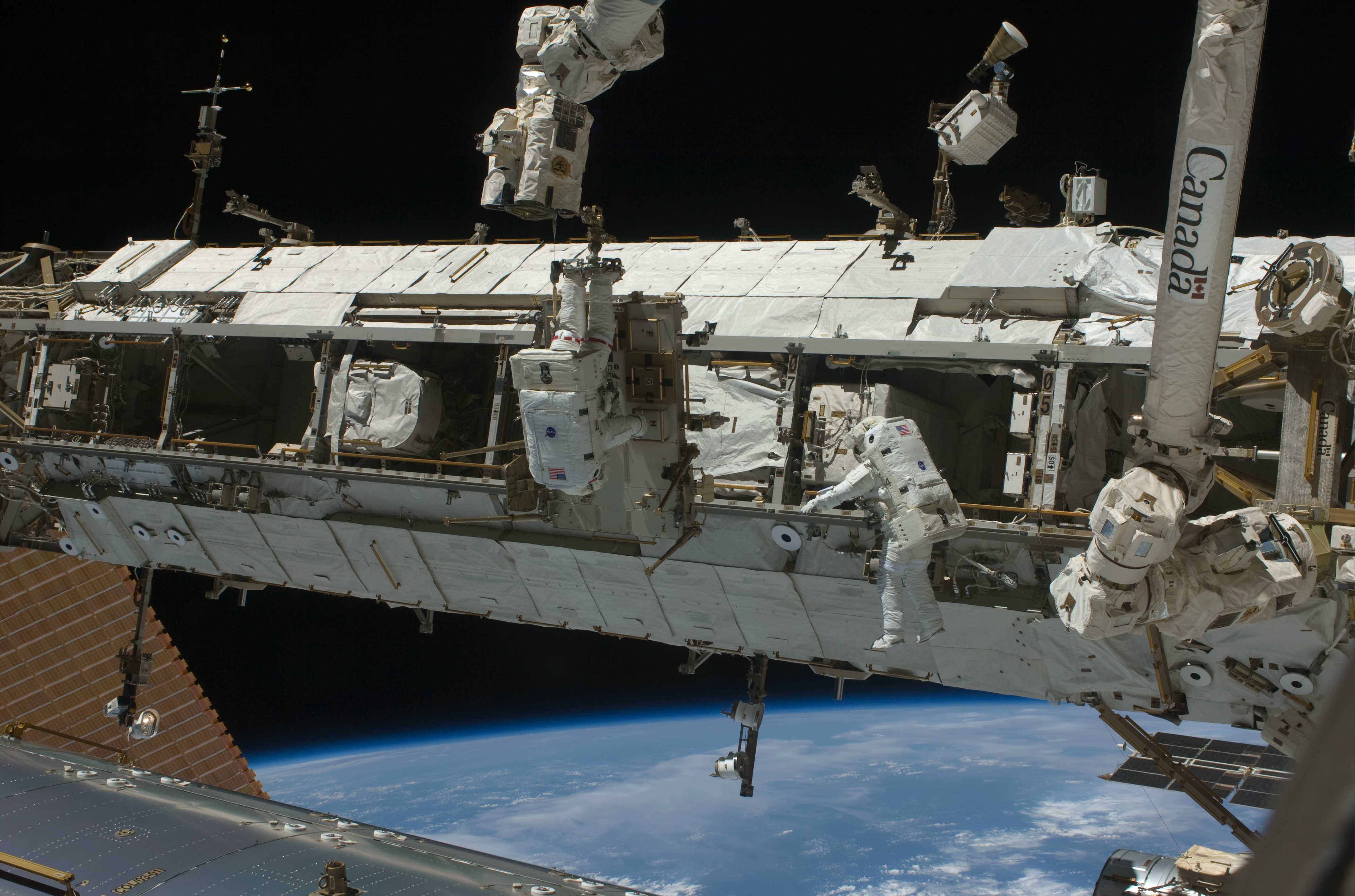 NASA Astronauts to Conduct Spacewalk as Early as Monday ...