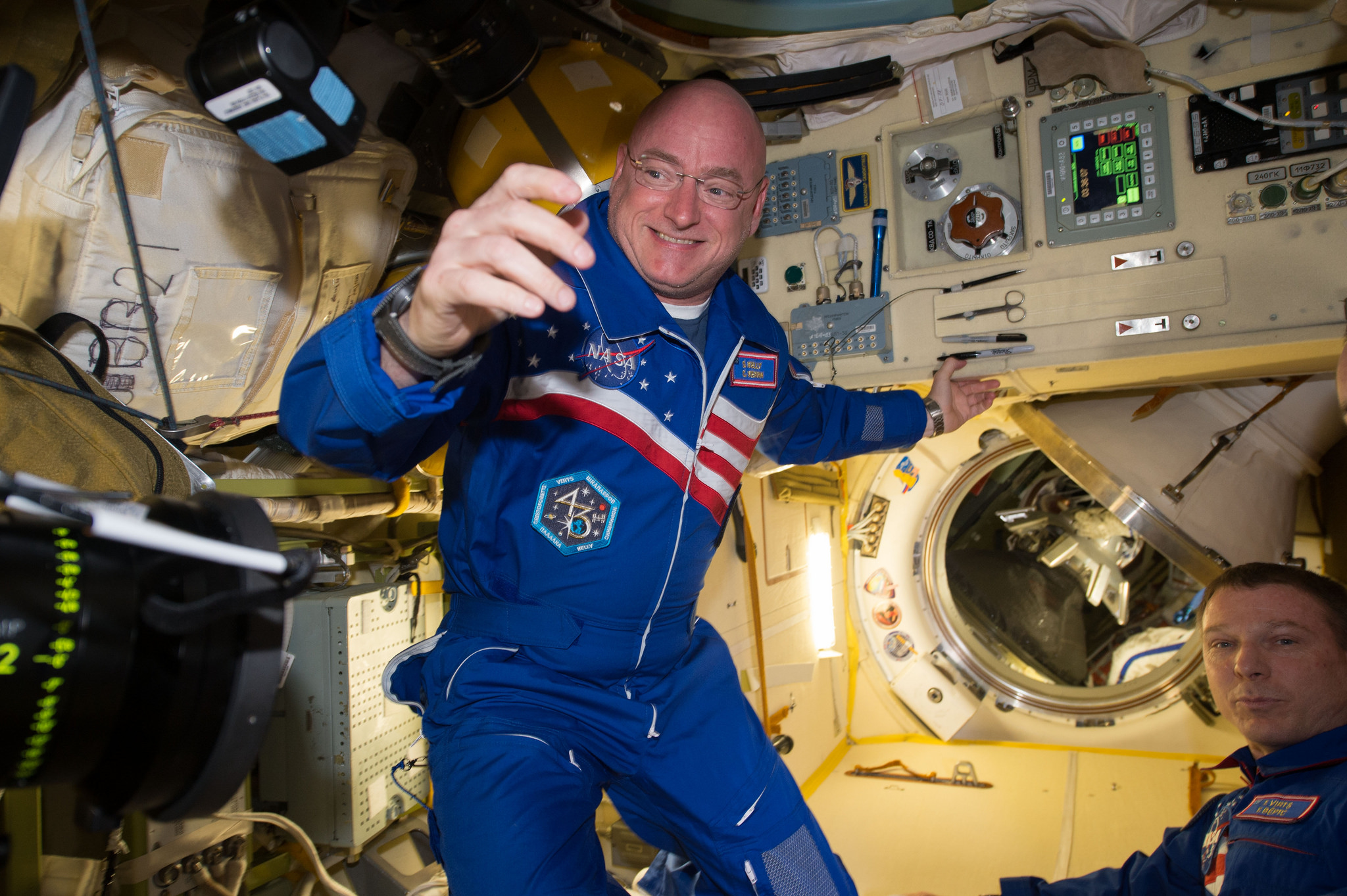 astronaut who was in space for a year -#main