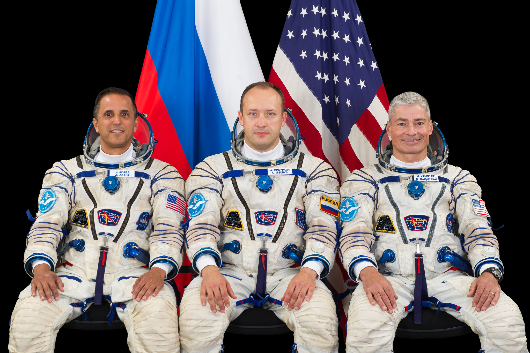 NASA Astronauts Available for Interviews Before Space Station Mission