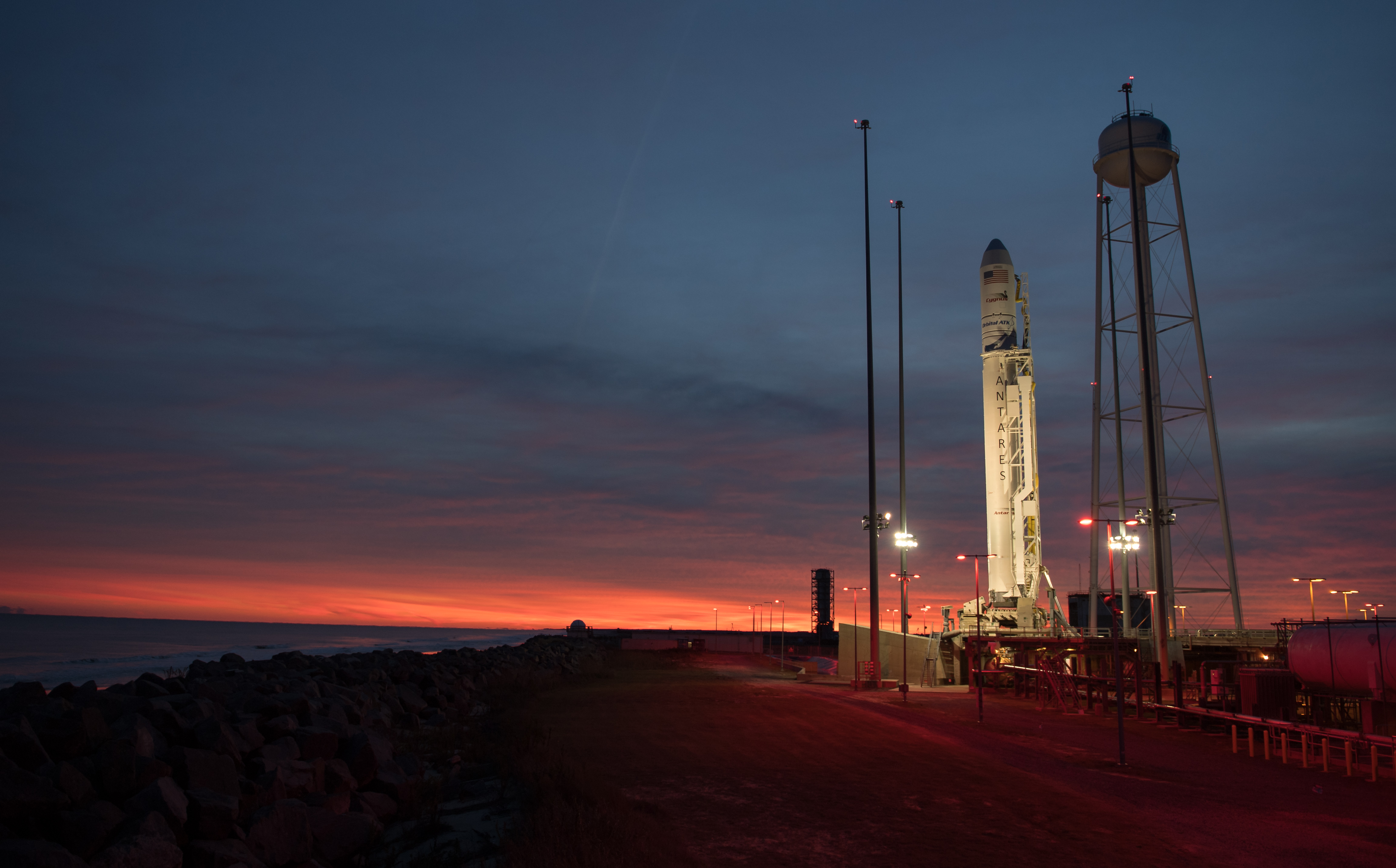 NASA commercial cargo provider Orbital ATK NASA