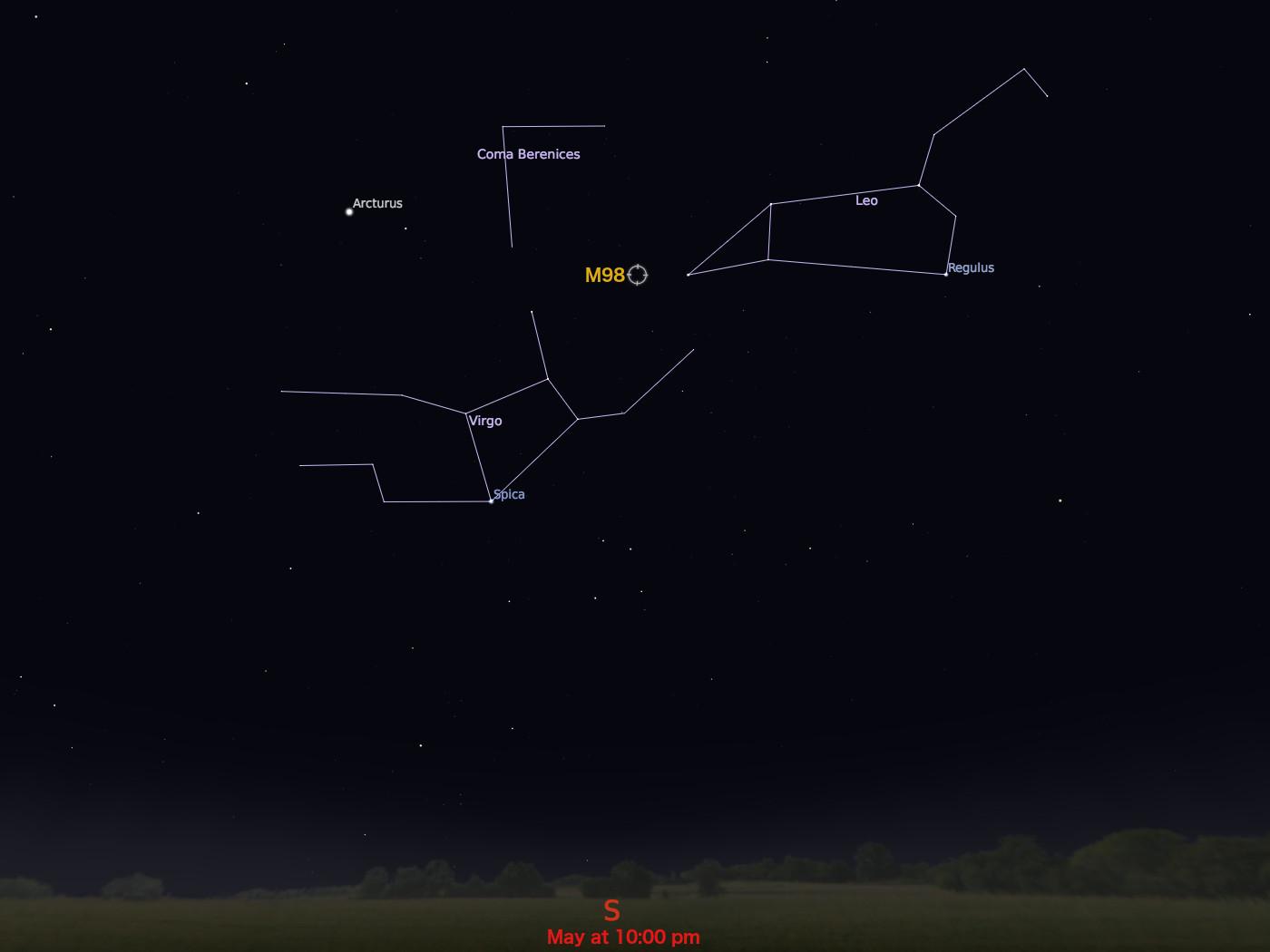 Messier 98 | NASA